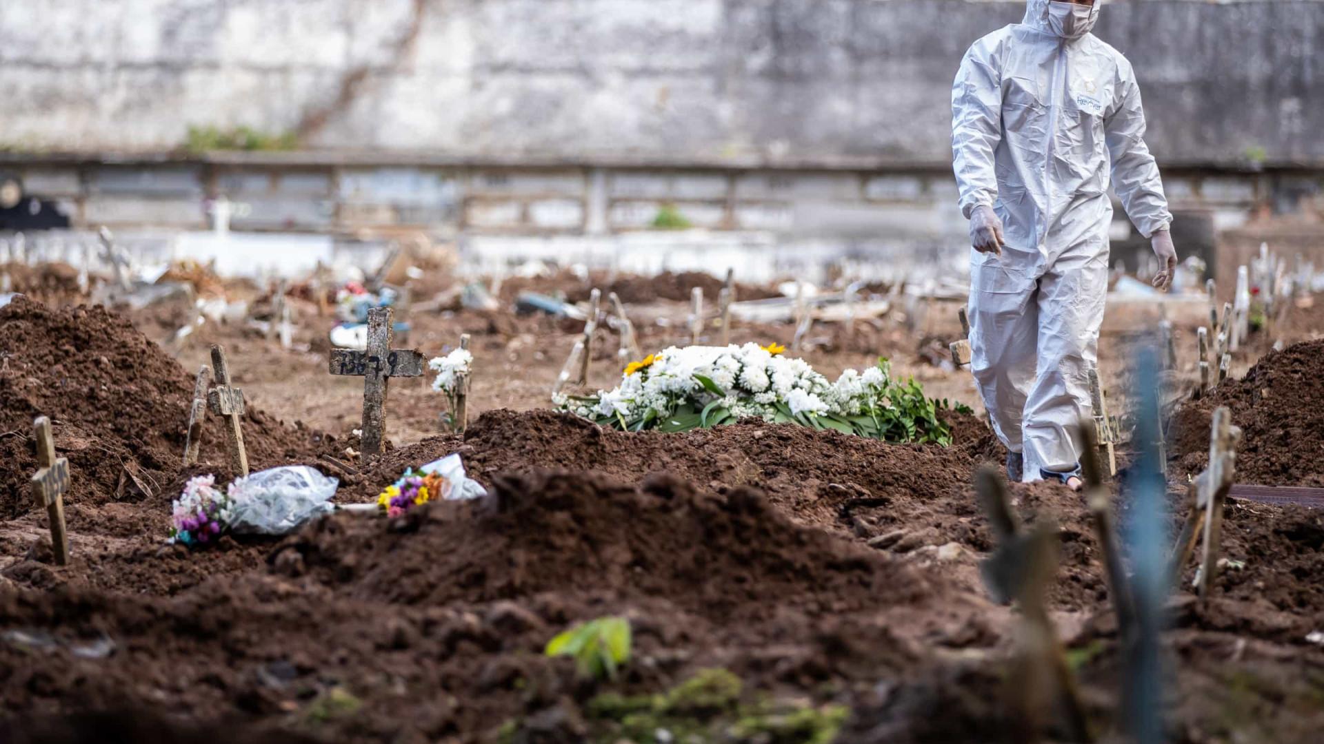 Covid-19: país registra mais de 32 mil casos e 1.305 mortes em 24h