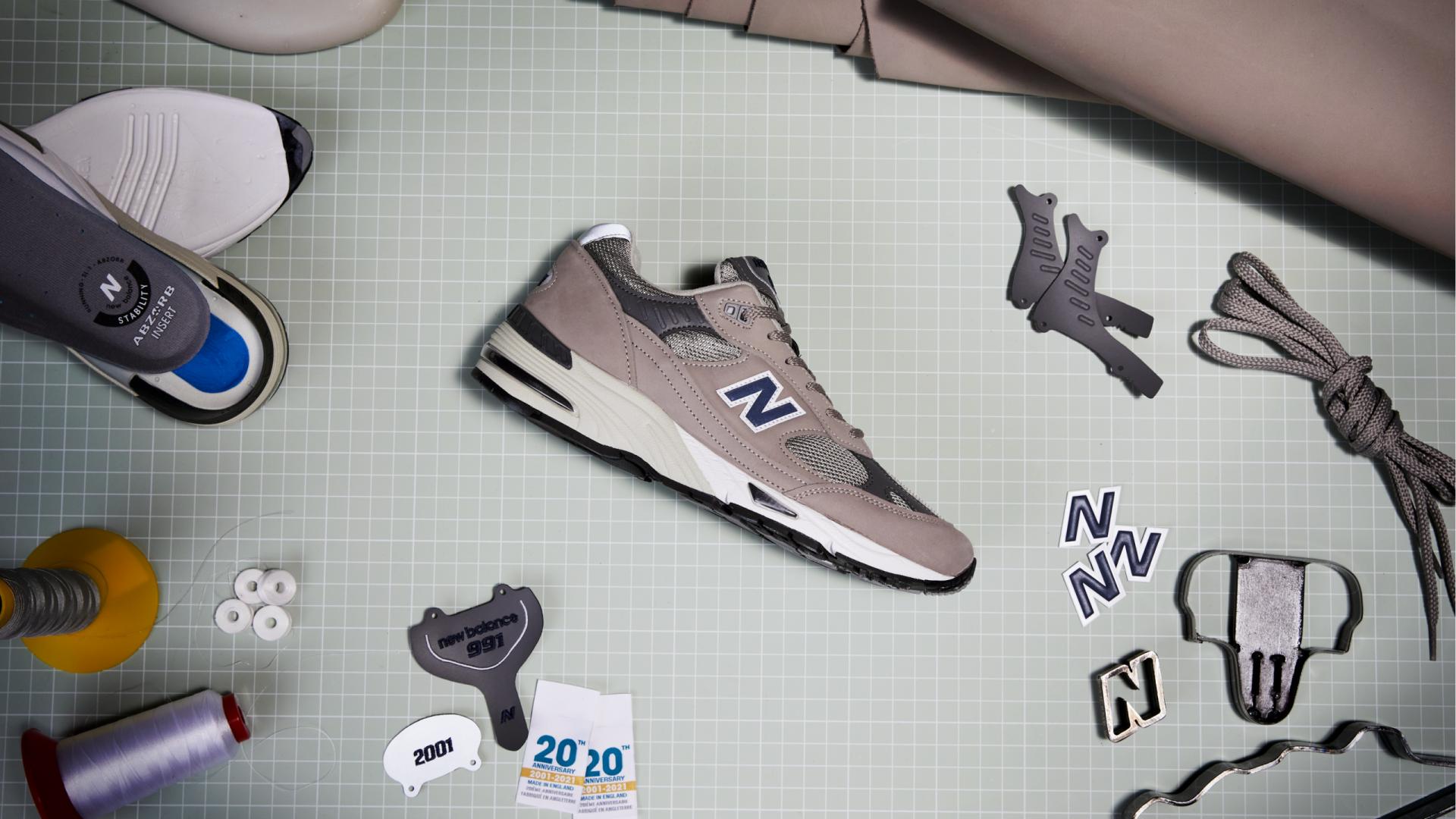 New Balance comemora o icônico 991. Simplesmente imperdível!