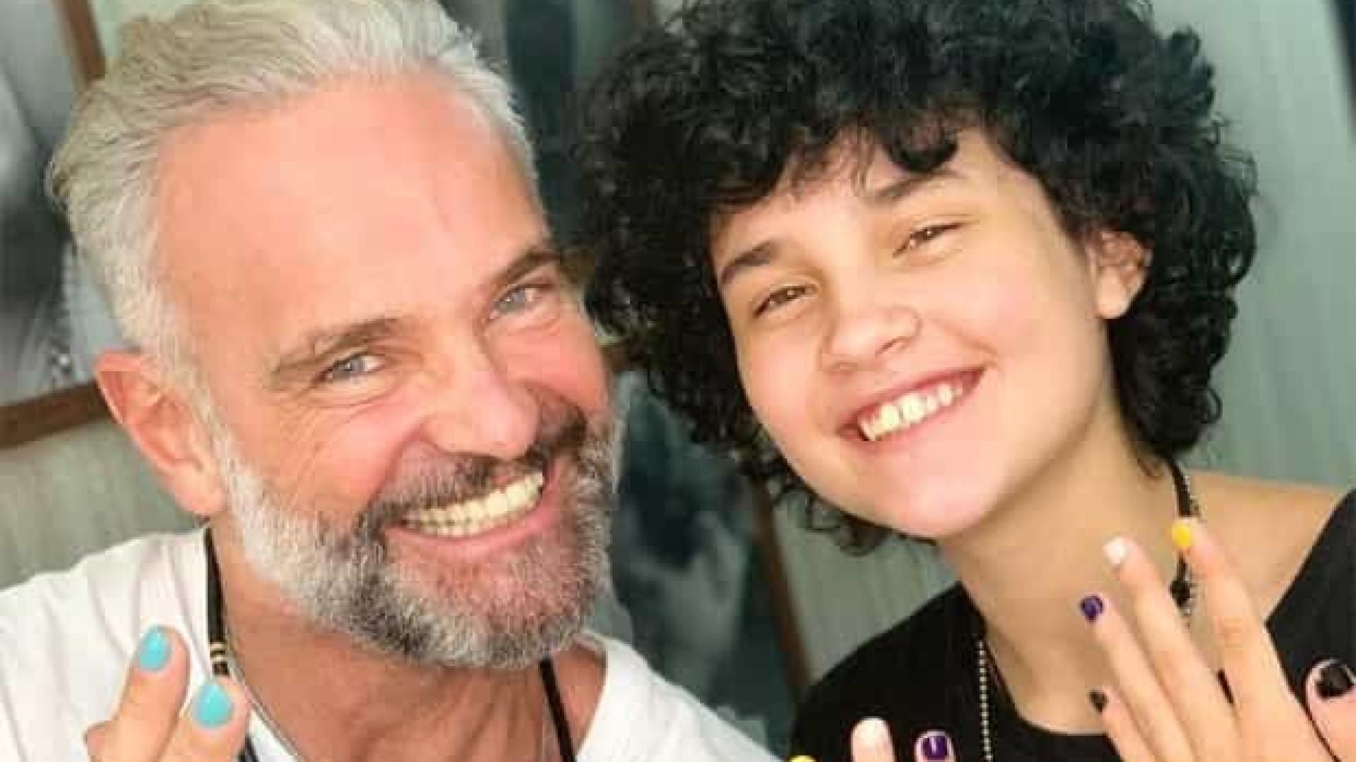 Mateus Carrieri diz que seu filho 'tem todo o apoio' na transição de gênero