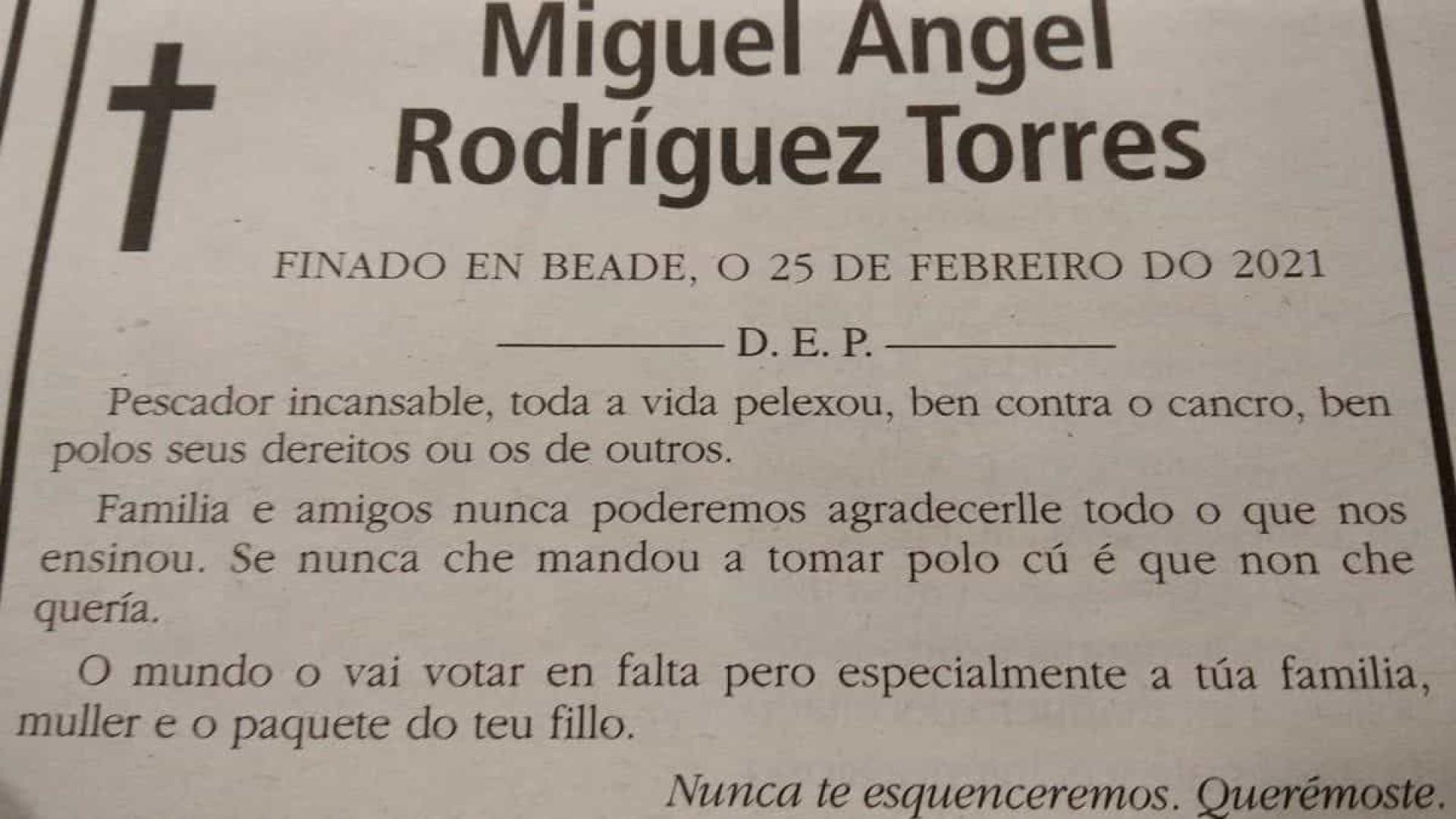 Obituário de homem 'sem papas na língua' viraliza na web