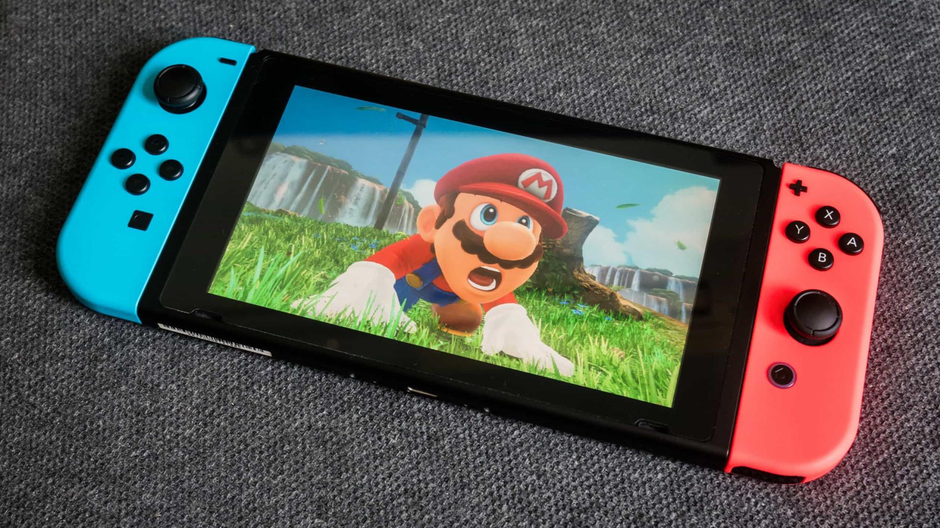 Produção da Nintendo Switch pode ser afetada por escassez de componentes