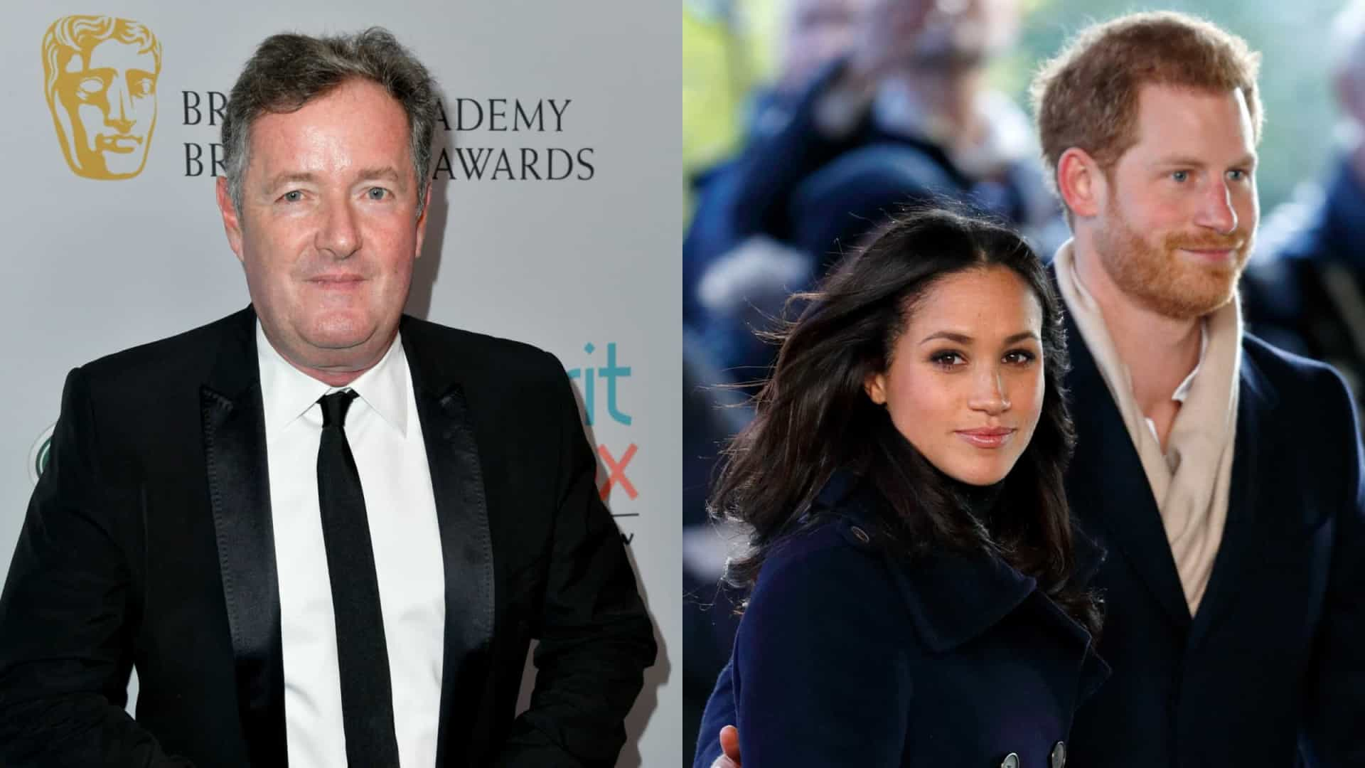 "Piers Morgan acusa Meghan Markle de chamar a rainha de ""mentirosa"""