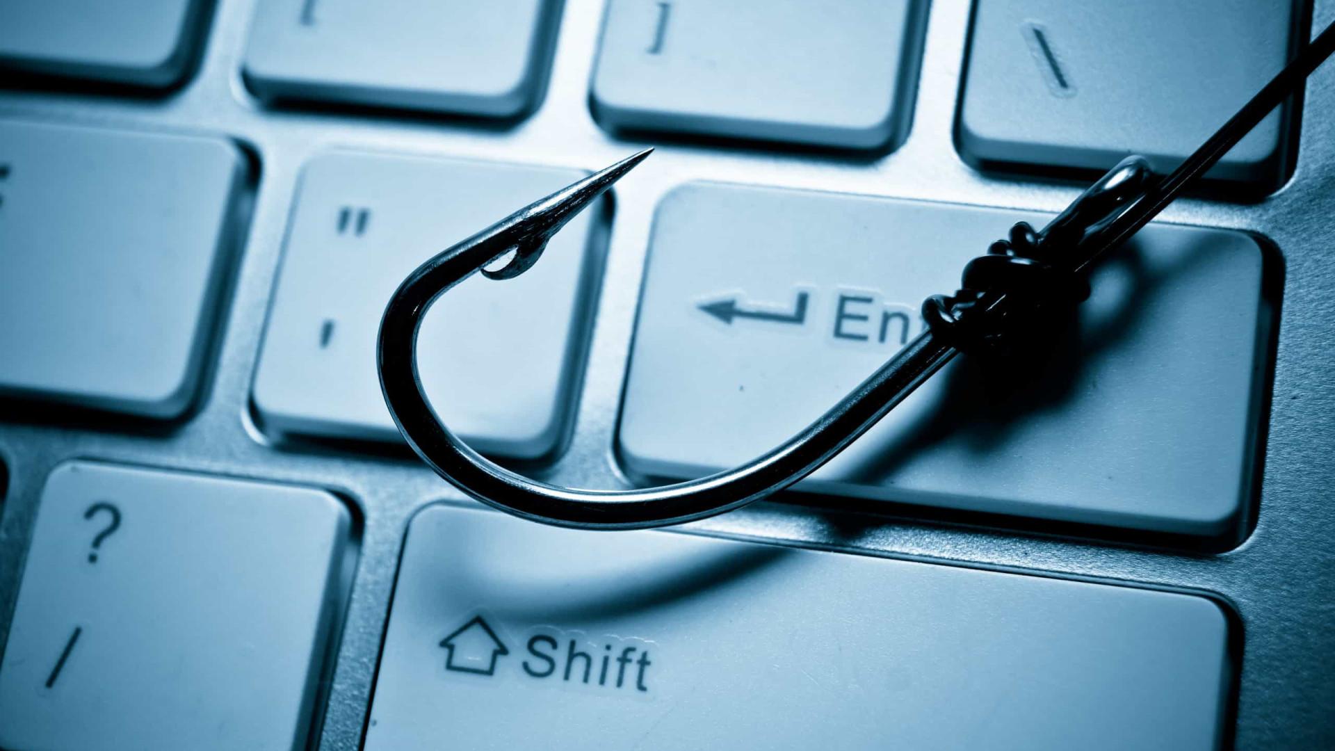 Brasil é o país com maior número de vítimas de phishing na internet