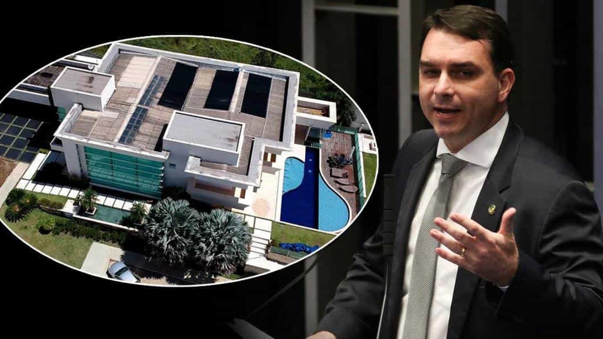 Flávio Bolsonaro pagou R$ 181 mil à vista em imposto e taxas em compra de mansão