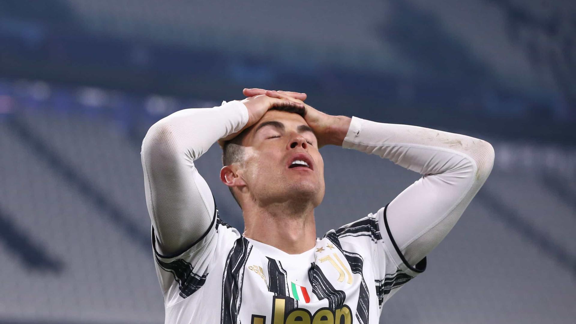 Cristiano Ronaldo usa rede social para estimular Juventus após vitória na Itália
