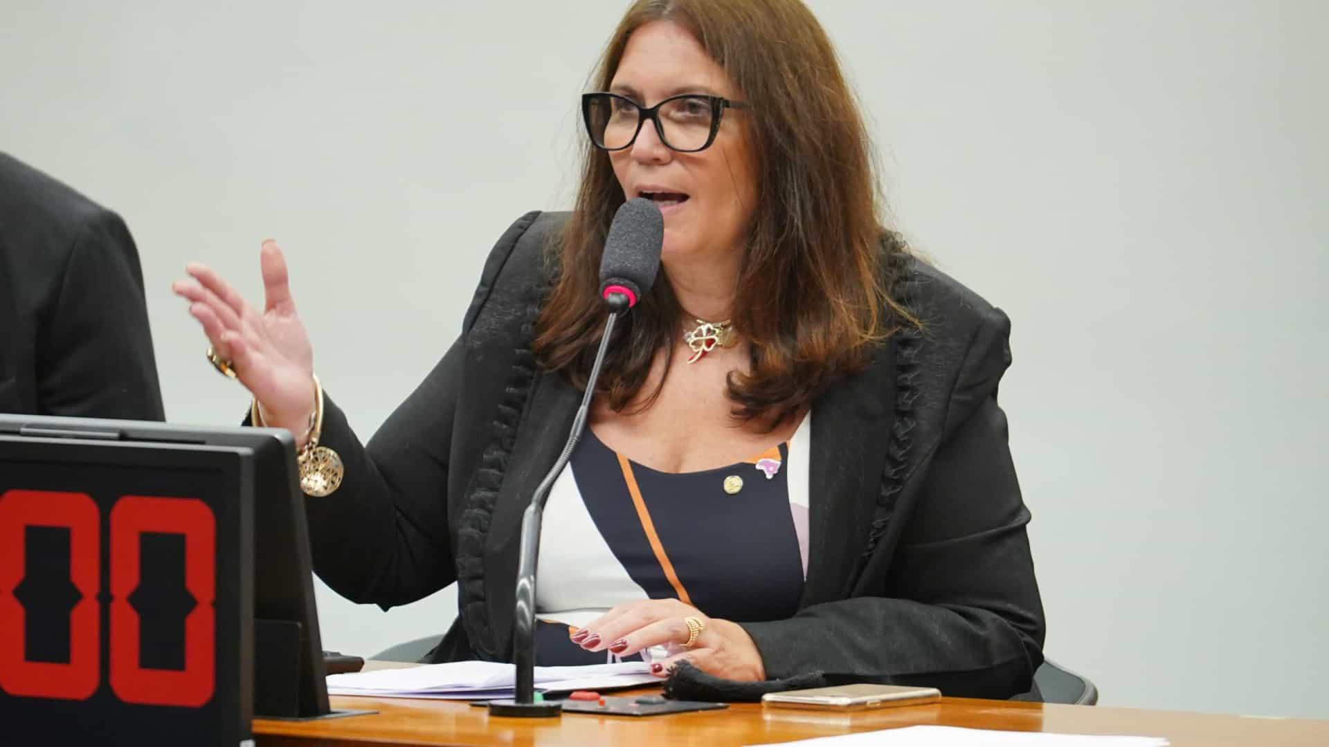 Bia Kicis associa possível derrota do voto impresso em comissão à pressão do TSE
