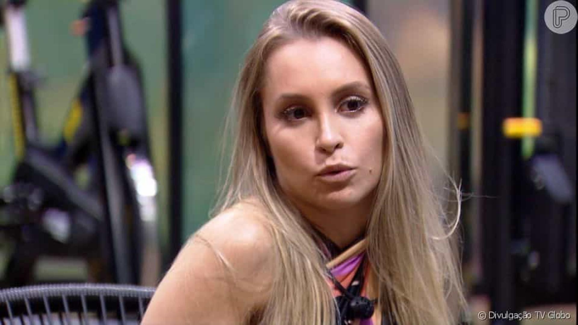 Carla Diaz diz após eliminação que pode ter ficado cega com Arthur
