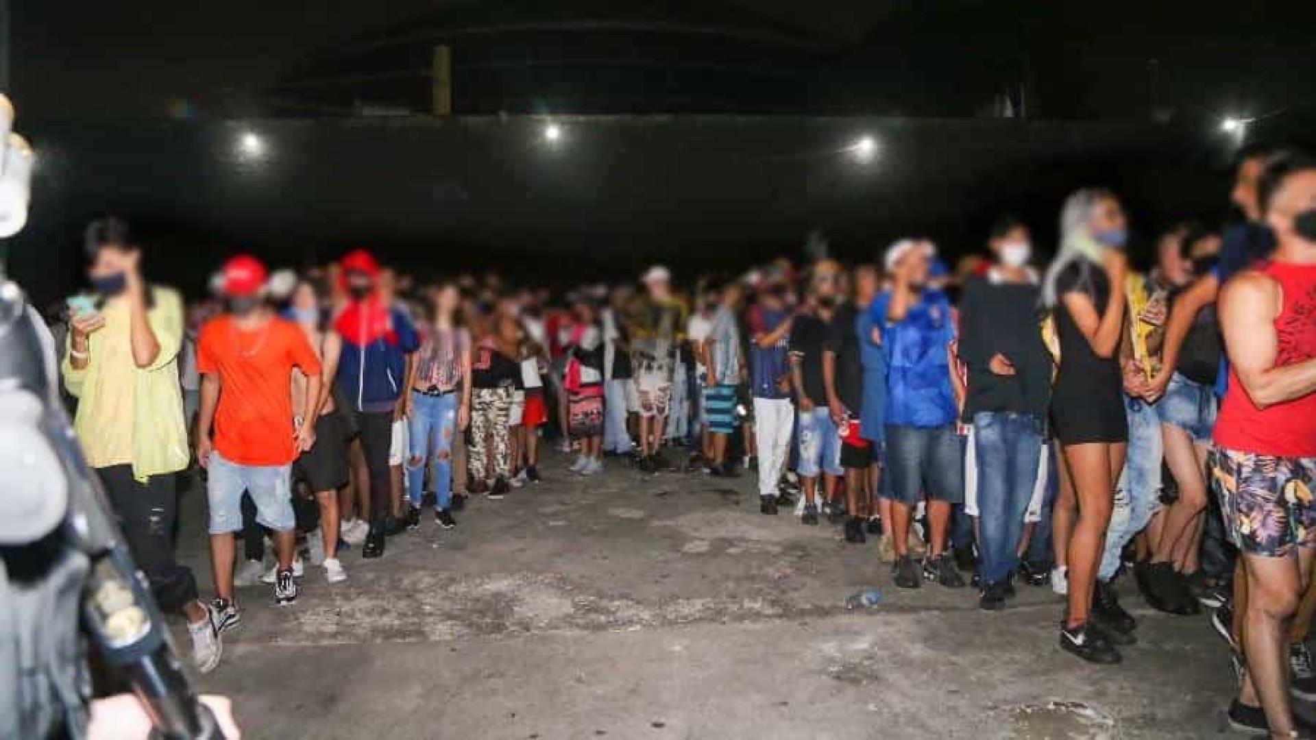 Polícia interrompe festa com 130 pessoas na zona sul de SP