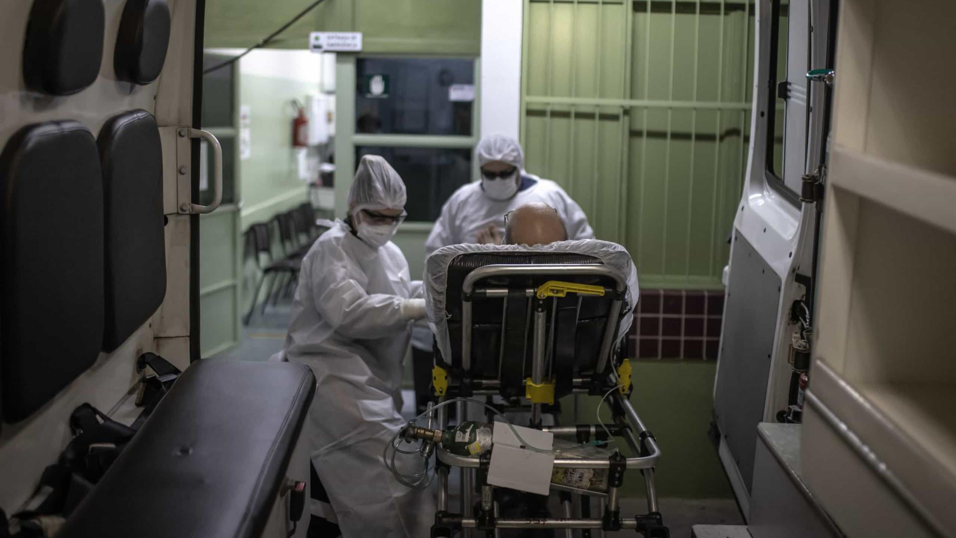 Sem UTI, equipes improvisam para tentar manter pacientes vivos à espera de vagas em SP