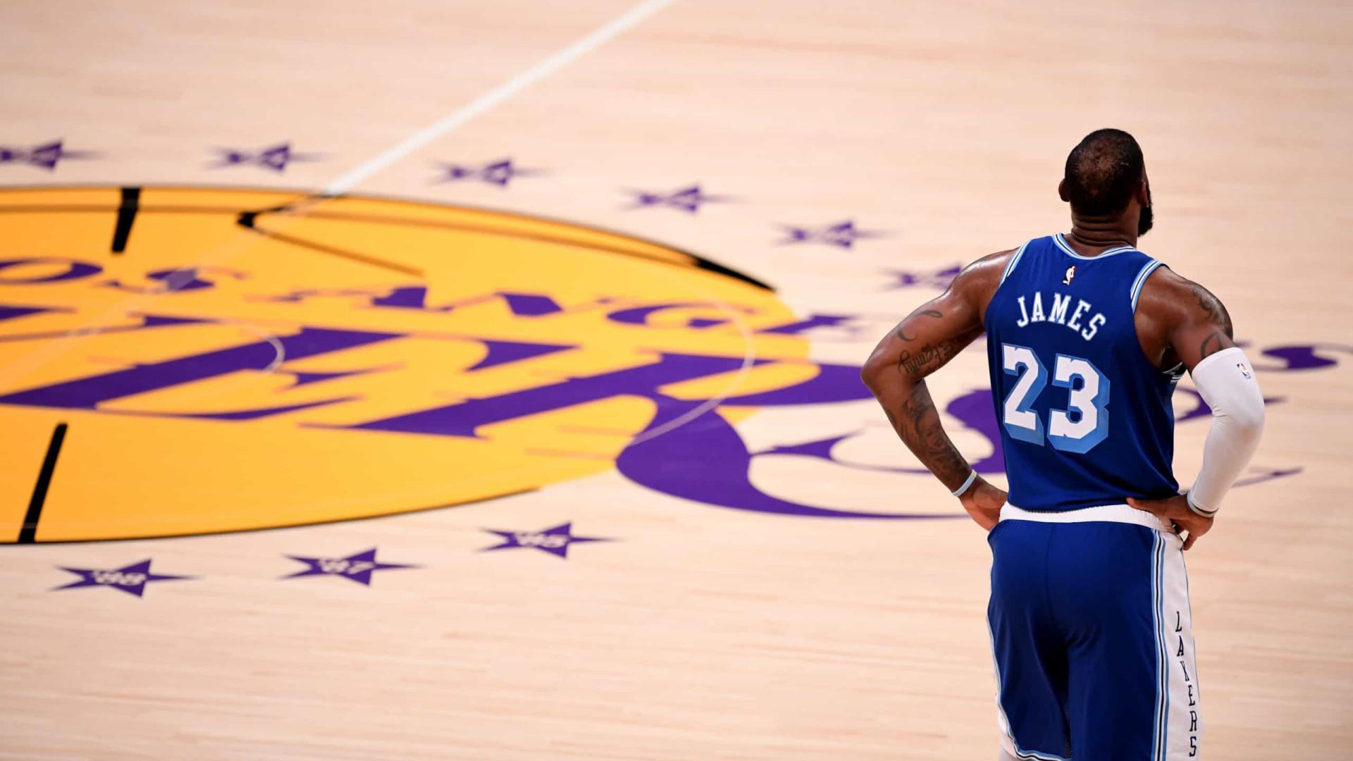 Com boa recuperação de lesão, LeBron e Davis podem voltar aos Lakers em 3 semanas