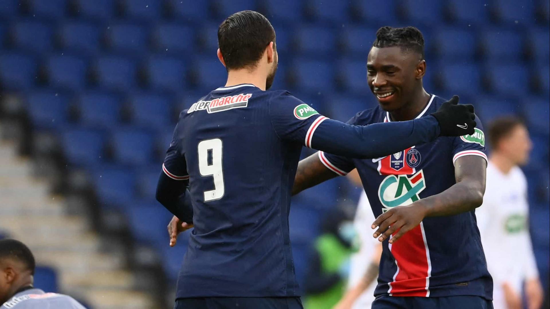 Sem Neymar, PSG goleia o Strasbourg e não deixa líder Lille disparar no Francês