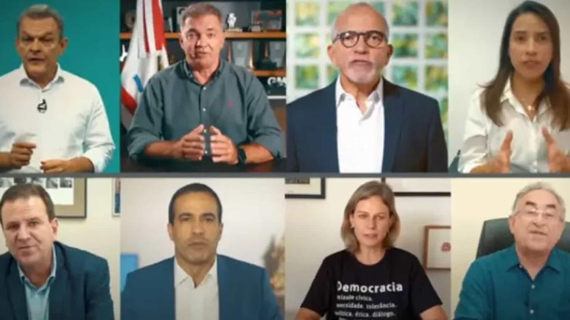 Em vídeo dramático, prefeitos pedem ajuda internacional para combater pandemia