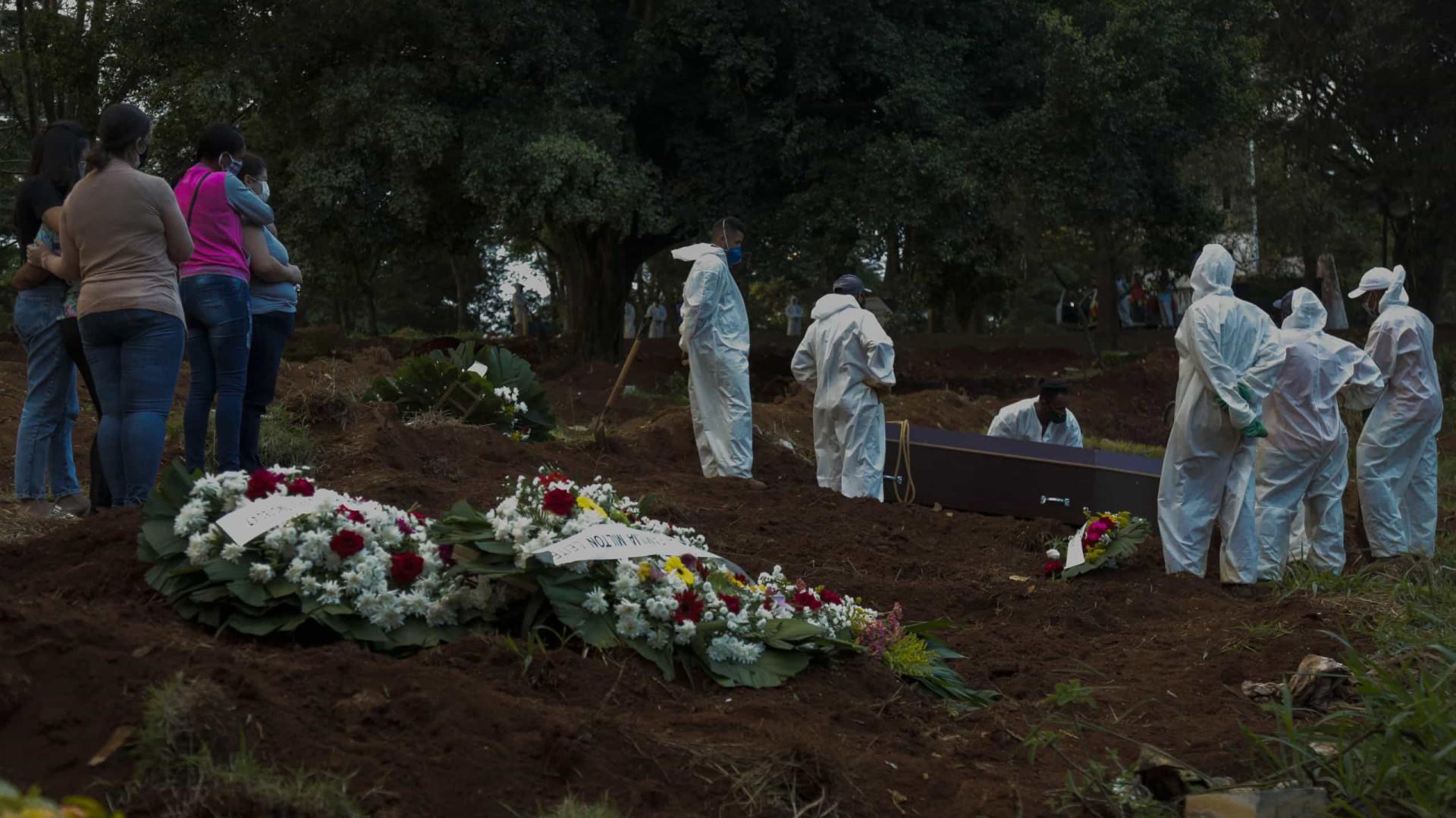 Brasil registra 1,2 mil mortes por covid-19 em 24h e soma 407,6 mil