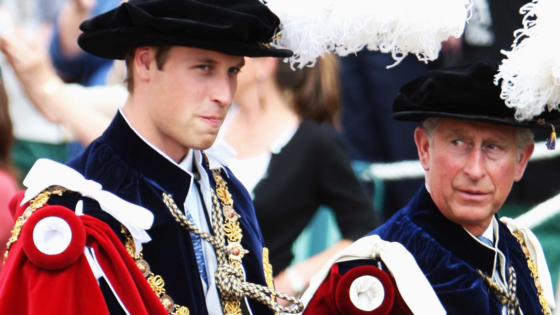 Estudo: Britânicos preferem príncipe William como rei em vez de Charles