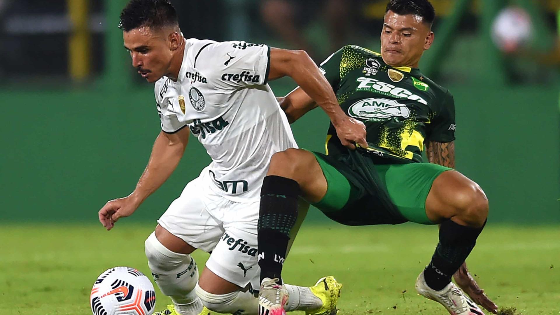 Scarpa decide e Palmeiras vence Defensa y Justicia pela Recopa Sul-Americana