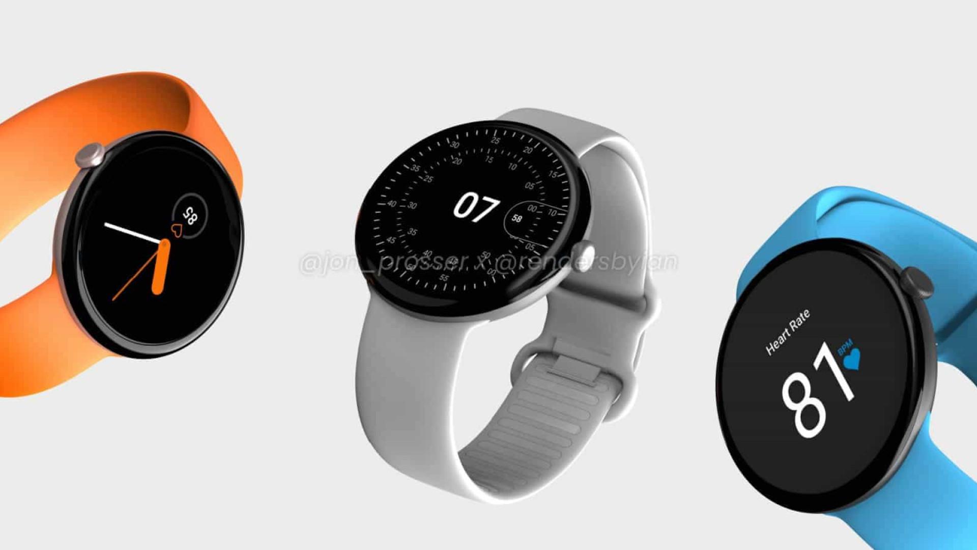 Google pode lançar relógio inteligente. Veja as imagens