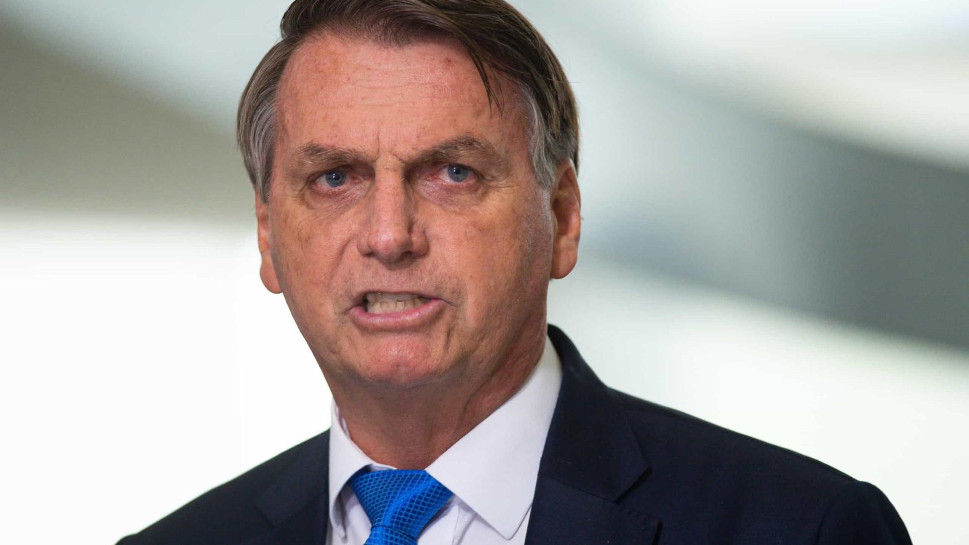 Bolsonaro diz que só tomará vacina aceita na Europa e nos EUA