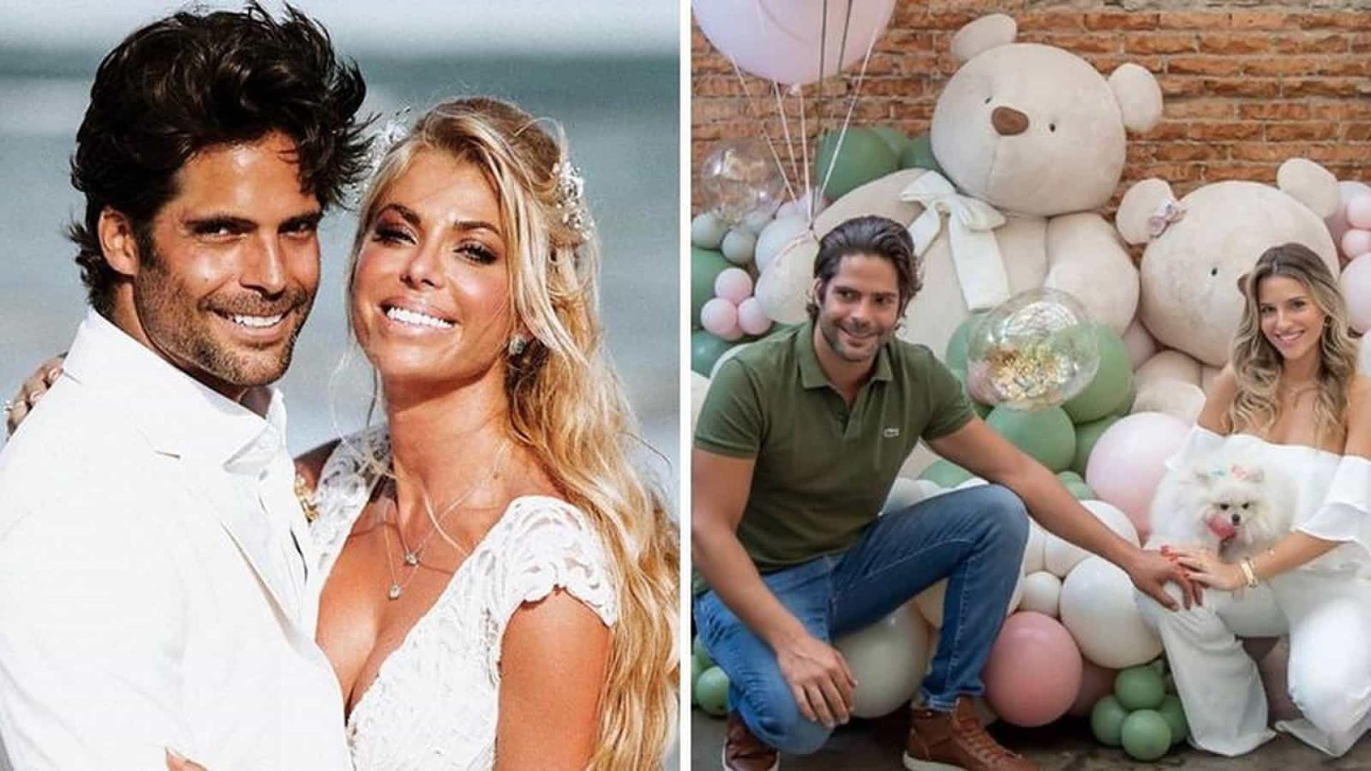 Sestini, ex de Carol Bittencourt, anuncia que espera filho com arquiteta