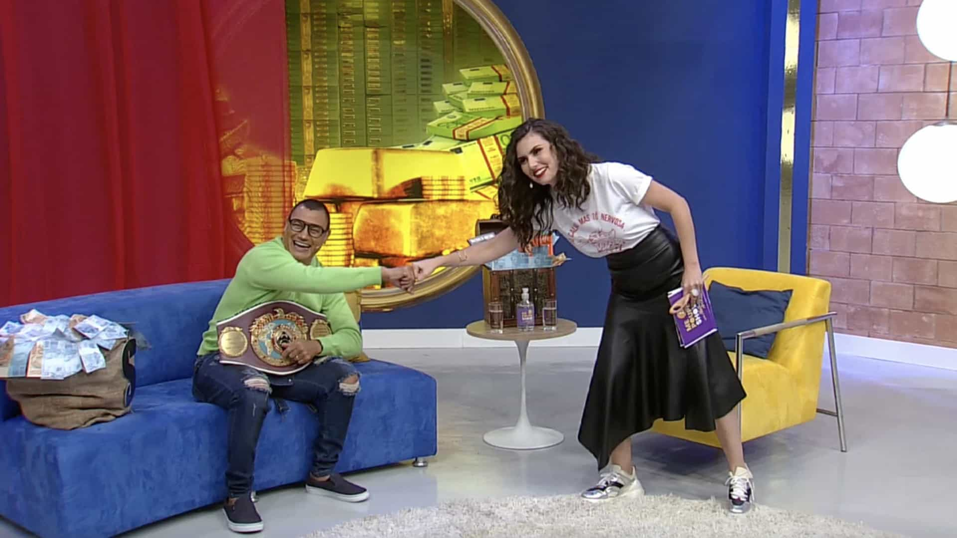 Nathalia Arcuri aposta R$ 10 mil em luta entre Popó e Whindersson