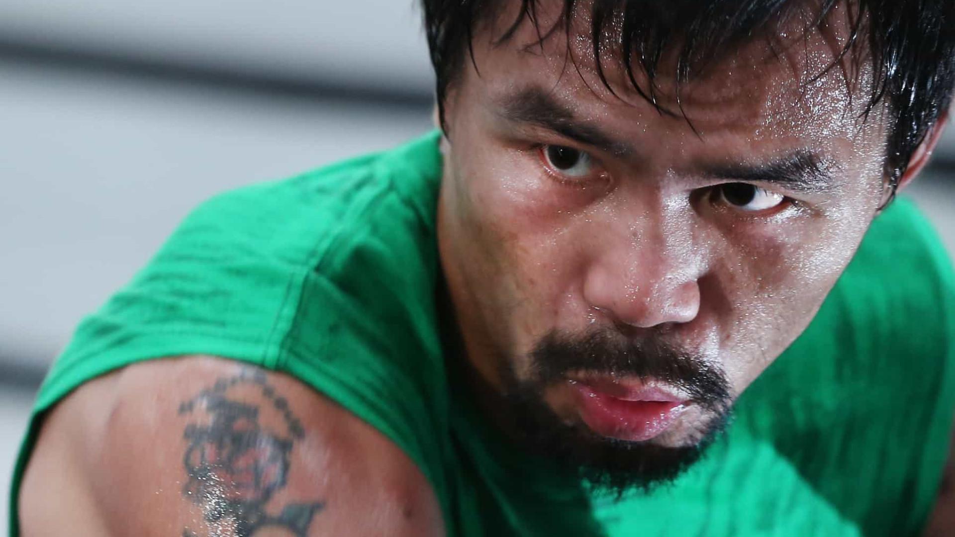 Manny Pacquiao inicia treinamentos para luta em junho ou julho deste ano