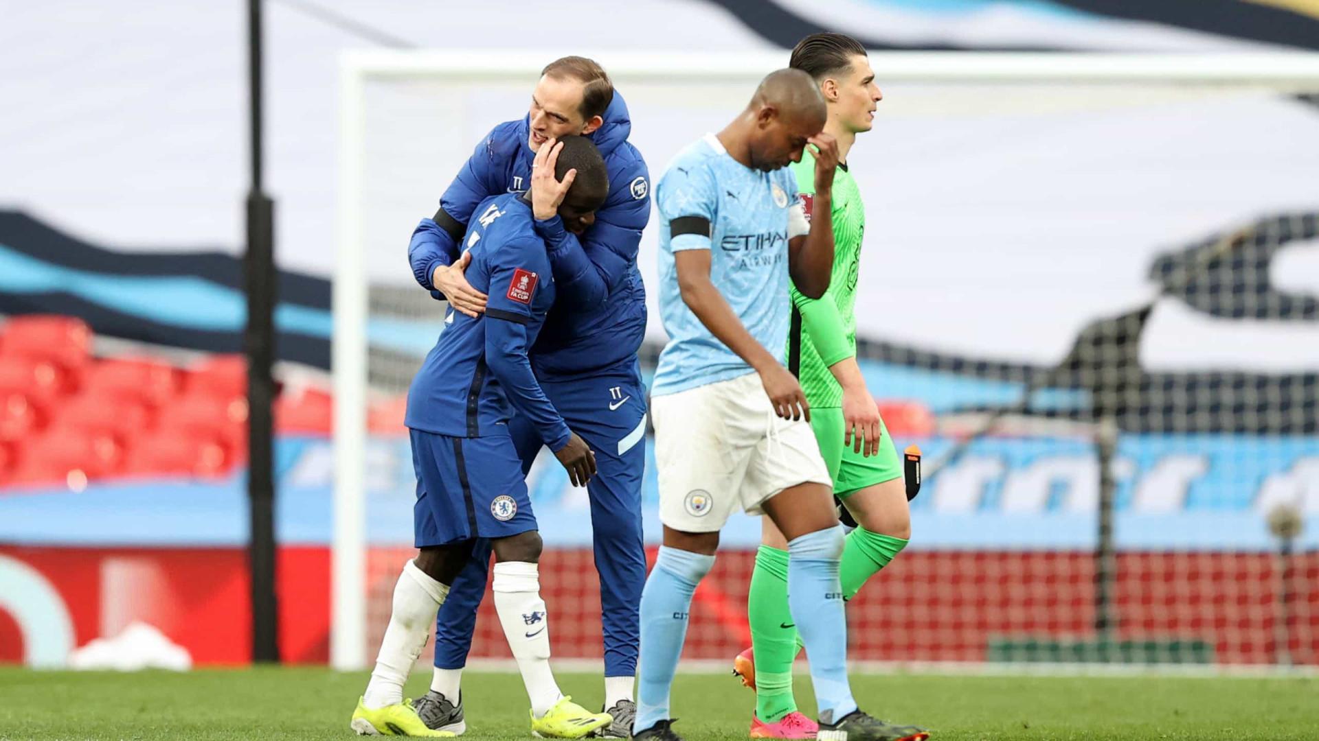 Chelsea domina Manchester City, vence e vai à final da Copa da Inglaterra