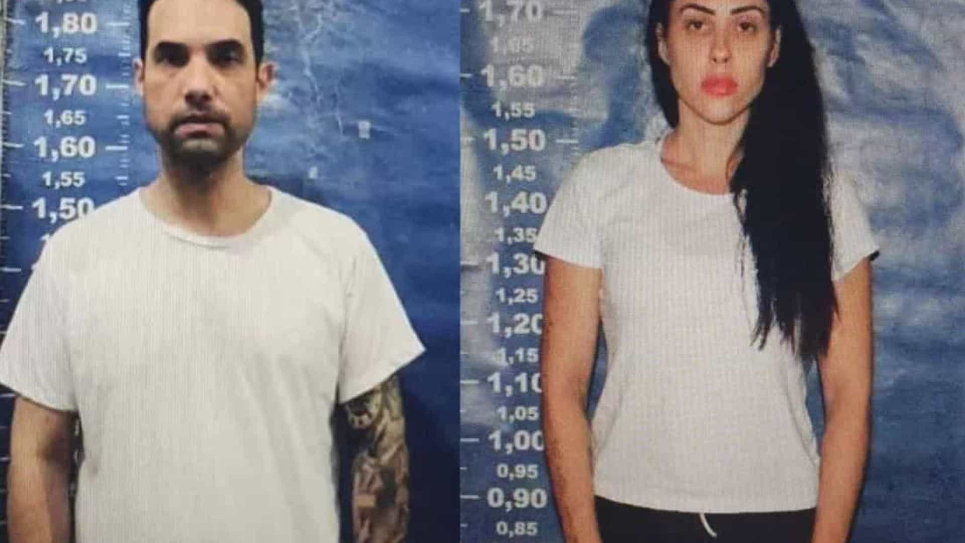 Fotos mostram Jairinho e Monique entrando no sistema penitenciário por caso Henry