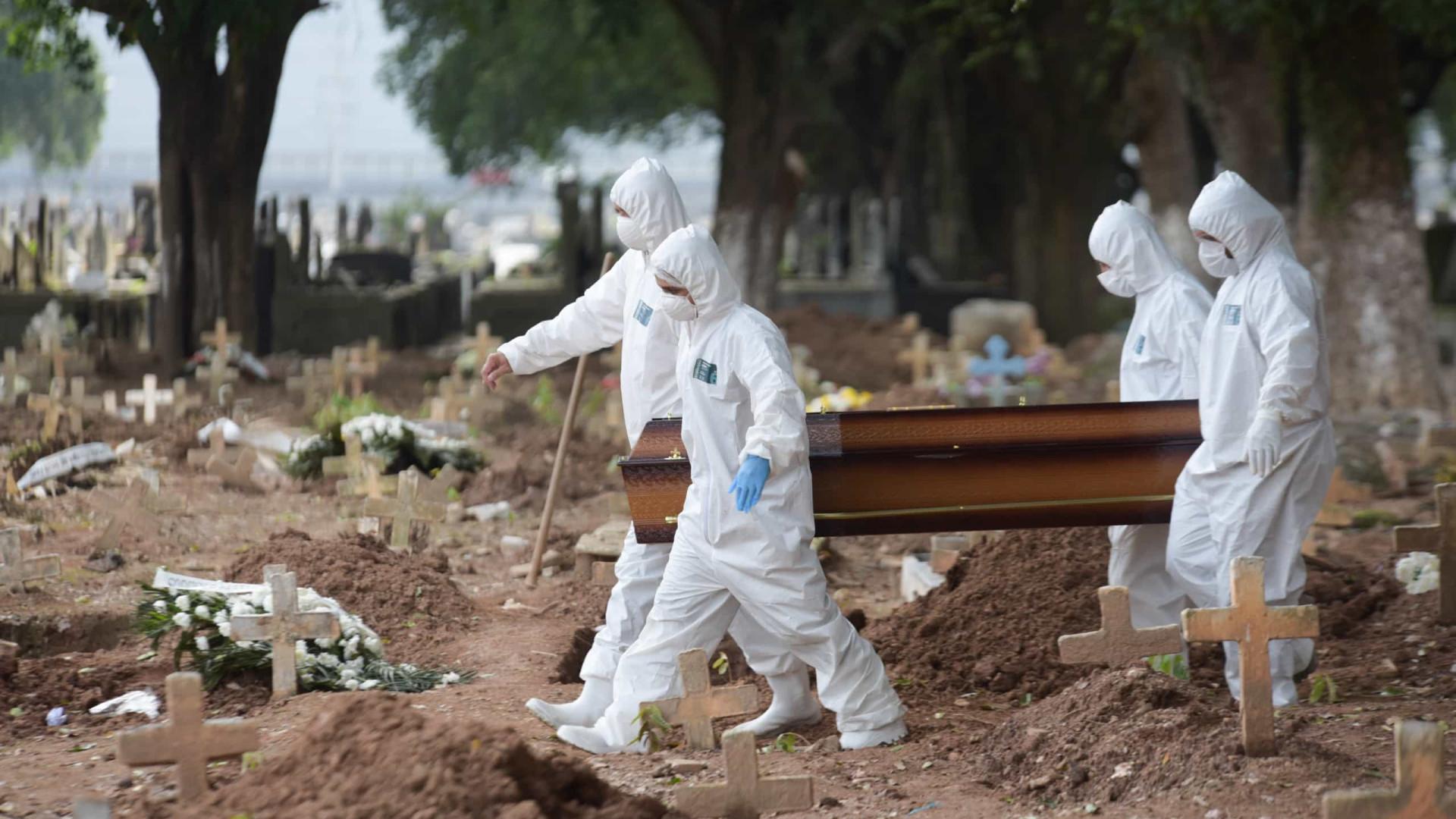 Brasil registra mais 983 mortes por Covid-19 em 24h
