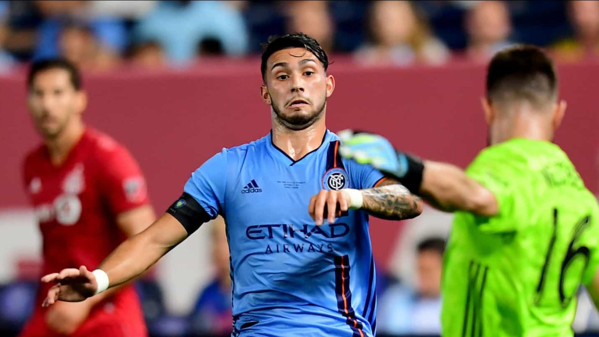 New York City FC avisa o Palmeiras que não liberará o argentino Castellanos