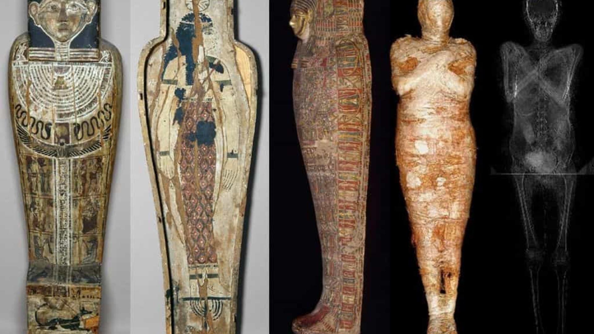 Cientistas identificam primeira múmia de mulher grávida de sete meses