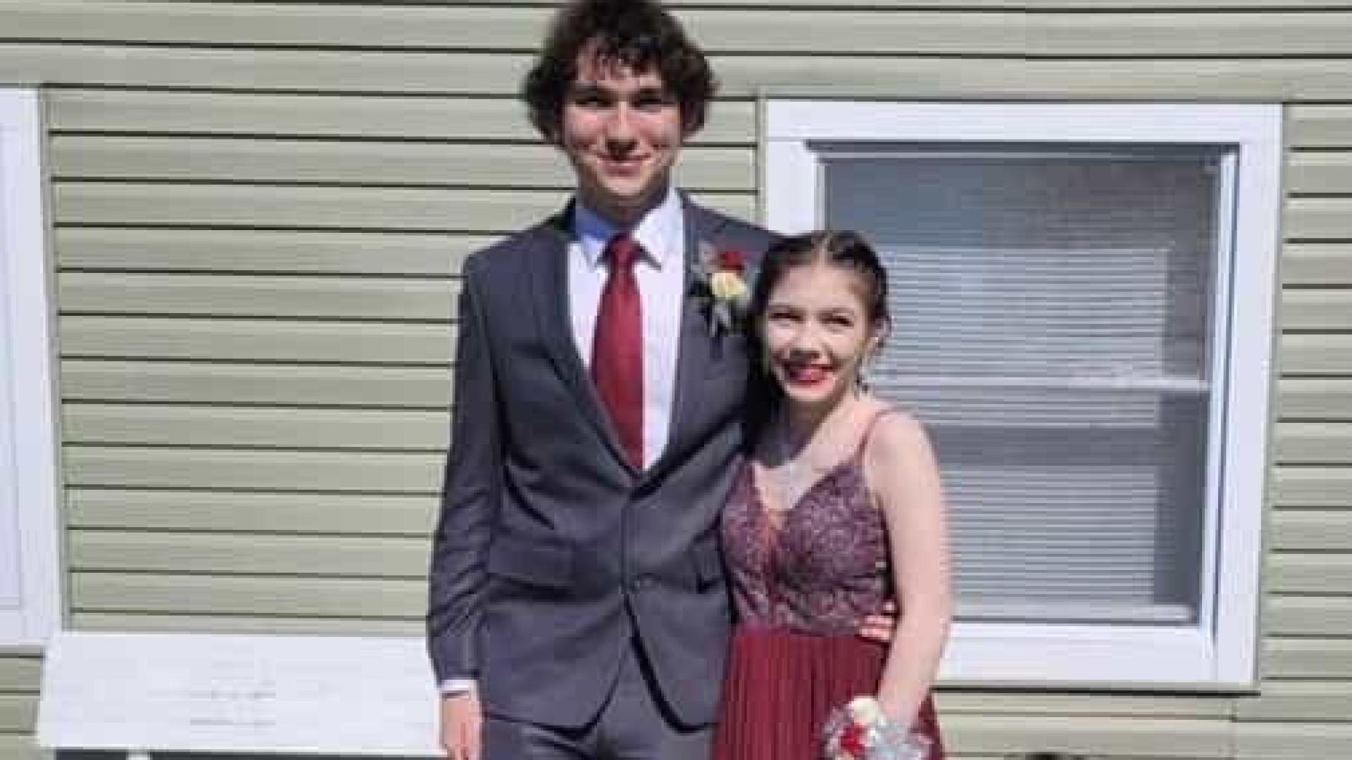 Casal de namorados morre em acidente a caminho do Baile de Formatura