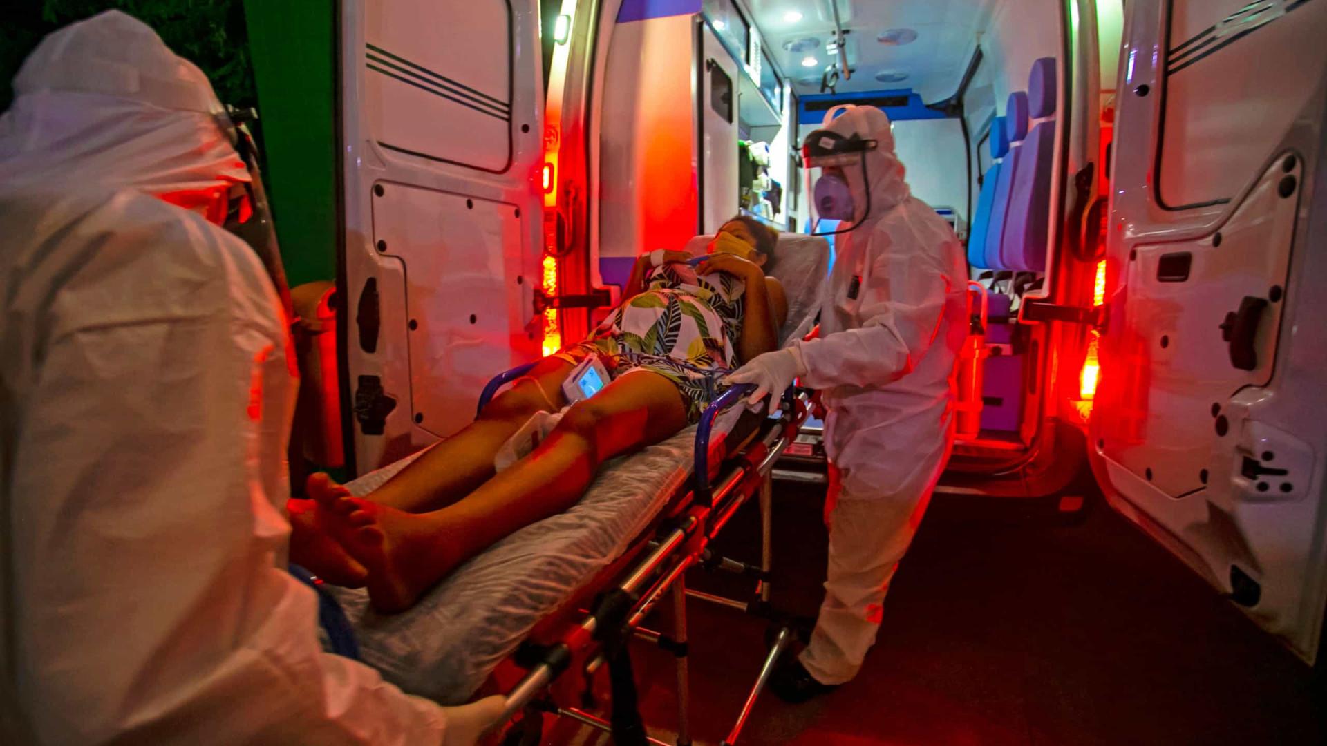 Brasil registra 1.054 mortes por Covid em 24h e passa dos 408 mil óbitos