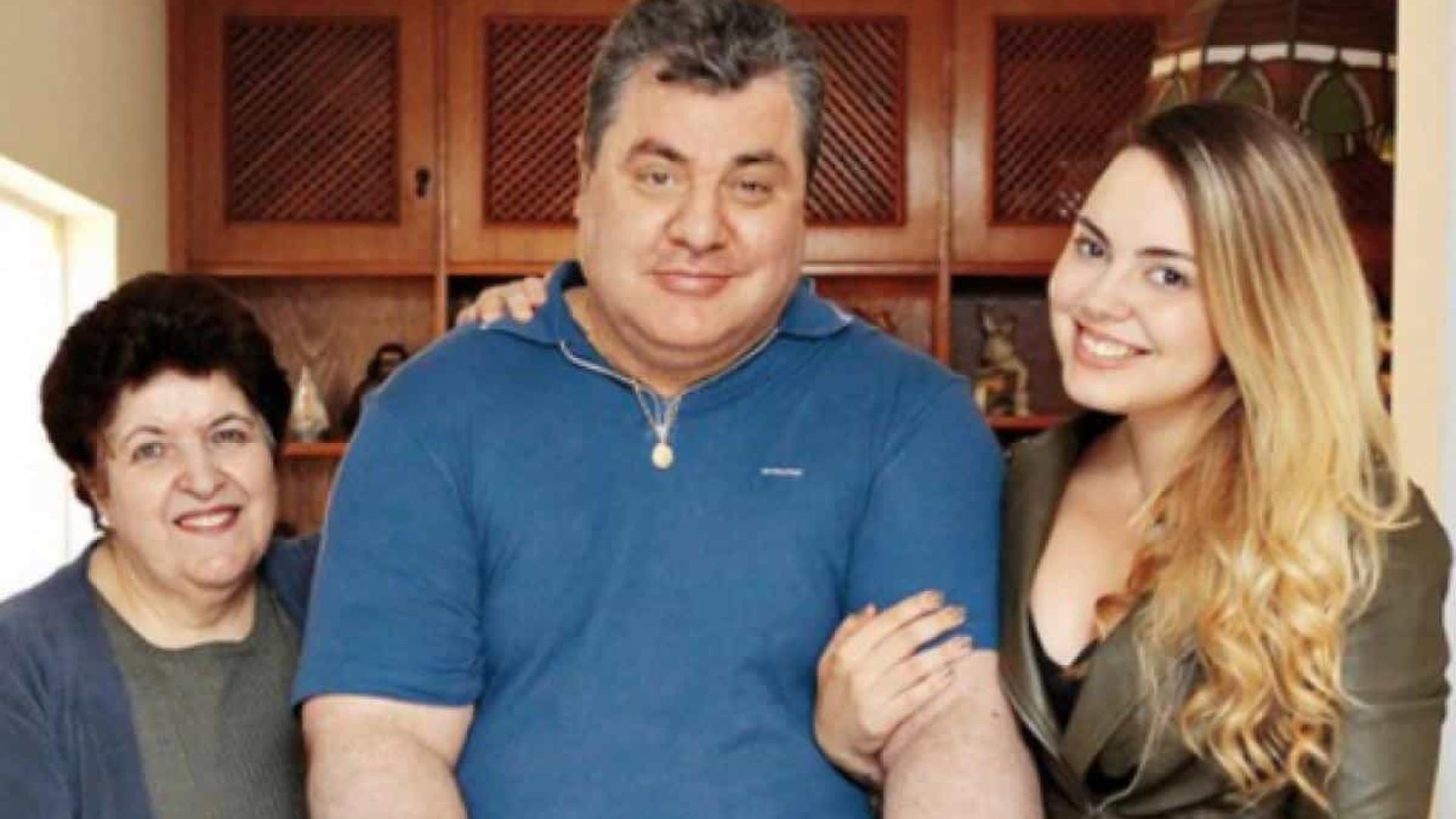 Filha de Gerson Brenner arrecada R$ 120 mil e compra carro adaptado para o pai
