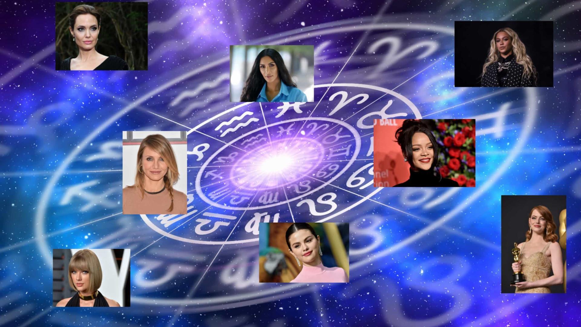 Celebridades que acreditam muito em astrologia! Você sabe o signo dessas famosas?