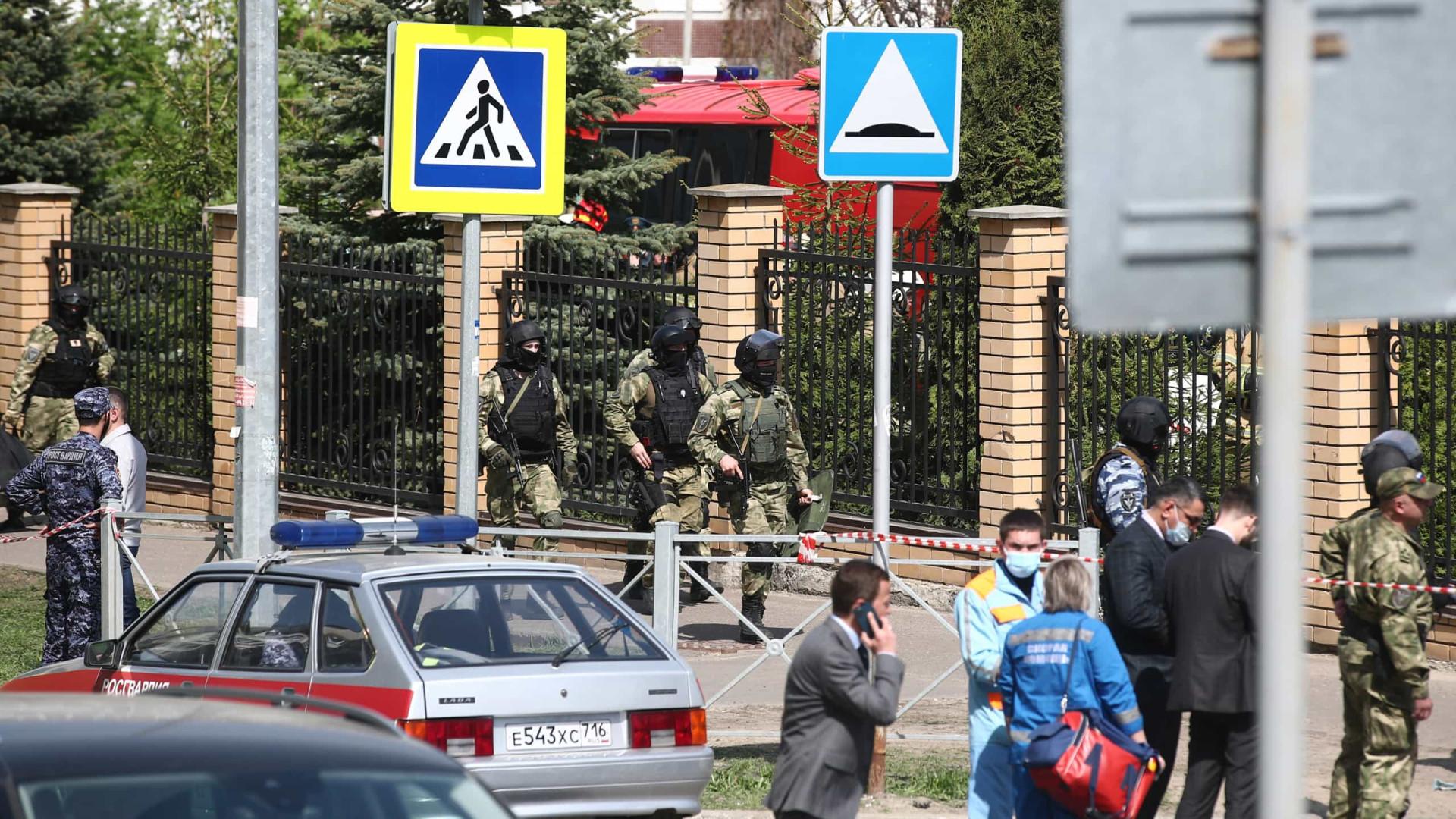 Ataque a tiros em escola na Rússia deixa ao menos 8 mortos