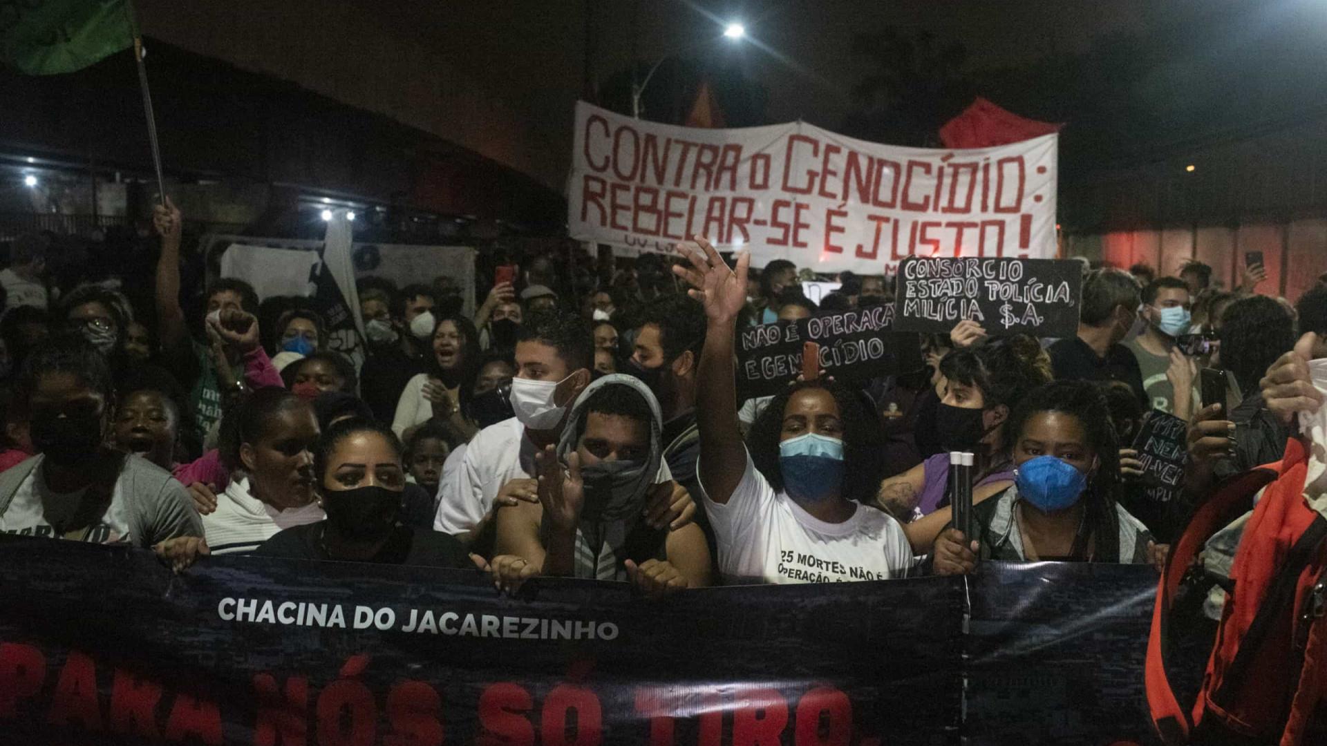 Vítimas do Jacarezinho tinham passagem pela polícia e envolvimento com o tráfico relatado por parentes