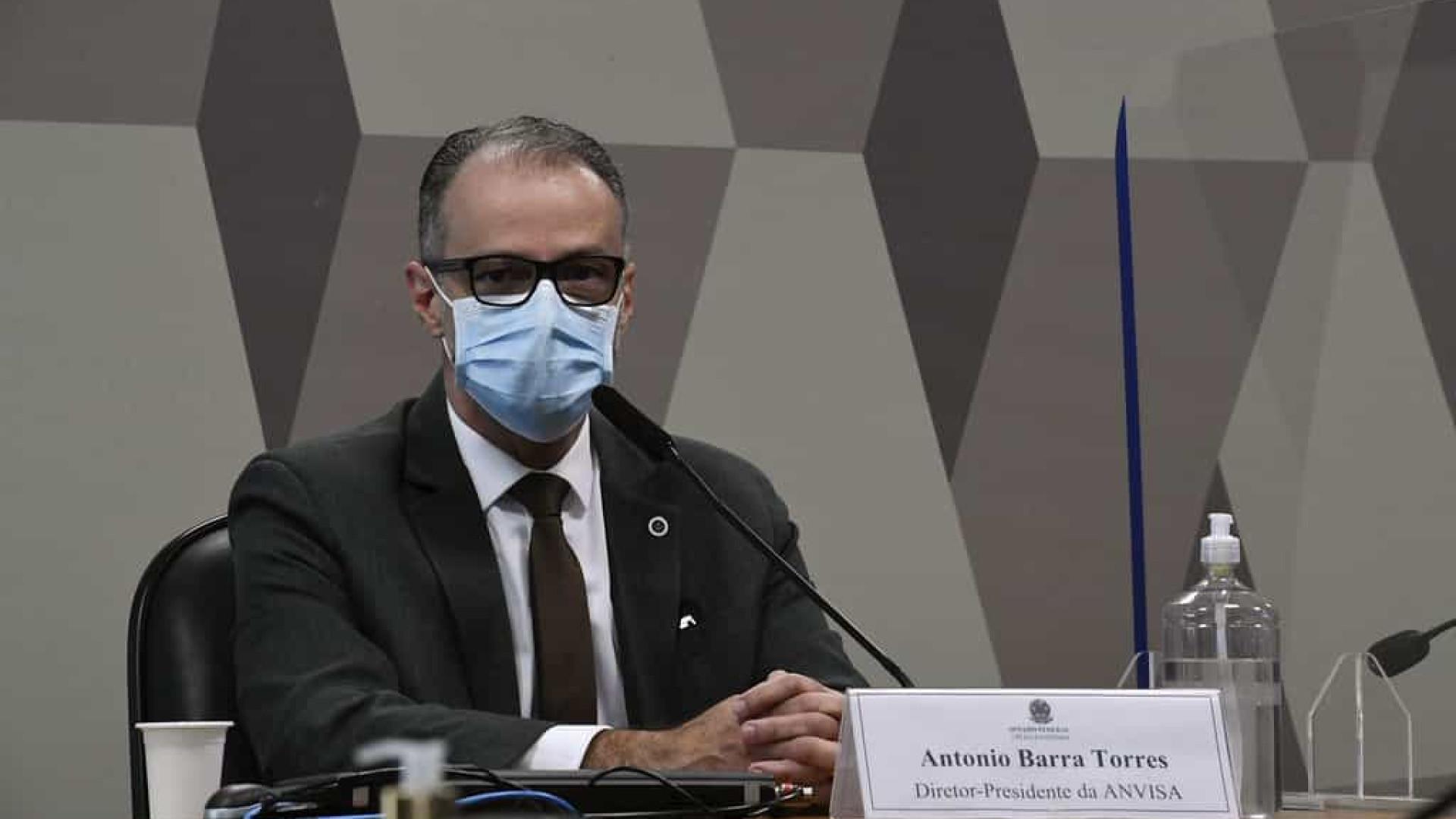 Barra Torres confirma reunião sobre bula da cloroquina: 'sem cabimento'