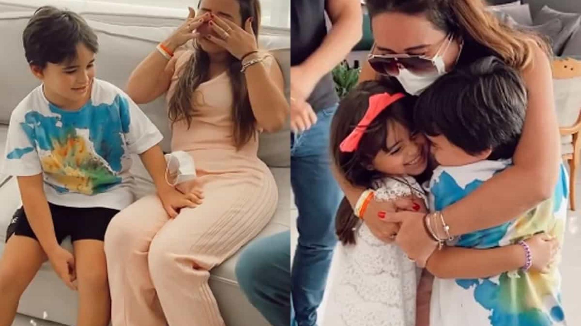 Irmã de Sabrina Sato celebra alta após internação por causa da Covid