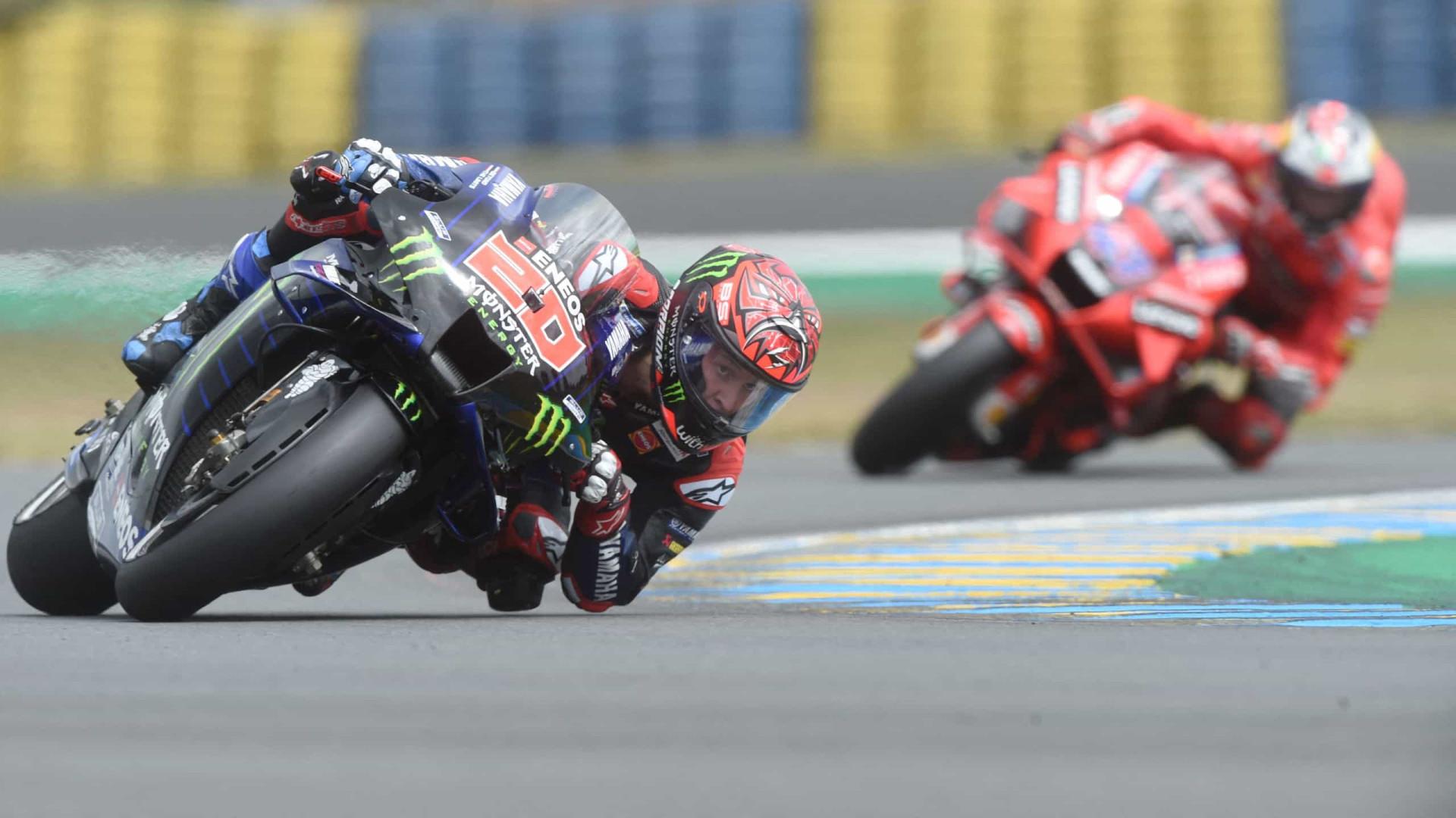 Jack Miller ganha GP da França de MotoGP em dia de pista molhada e muitas quedas