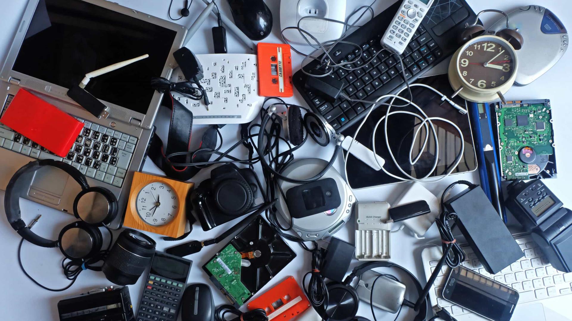Entenda como é o descarte correto do lixo eletrônico