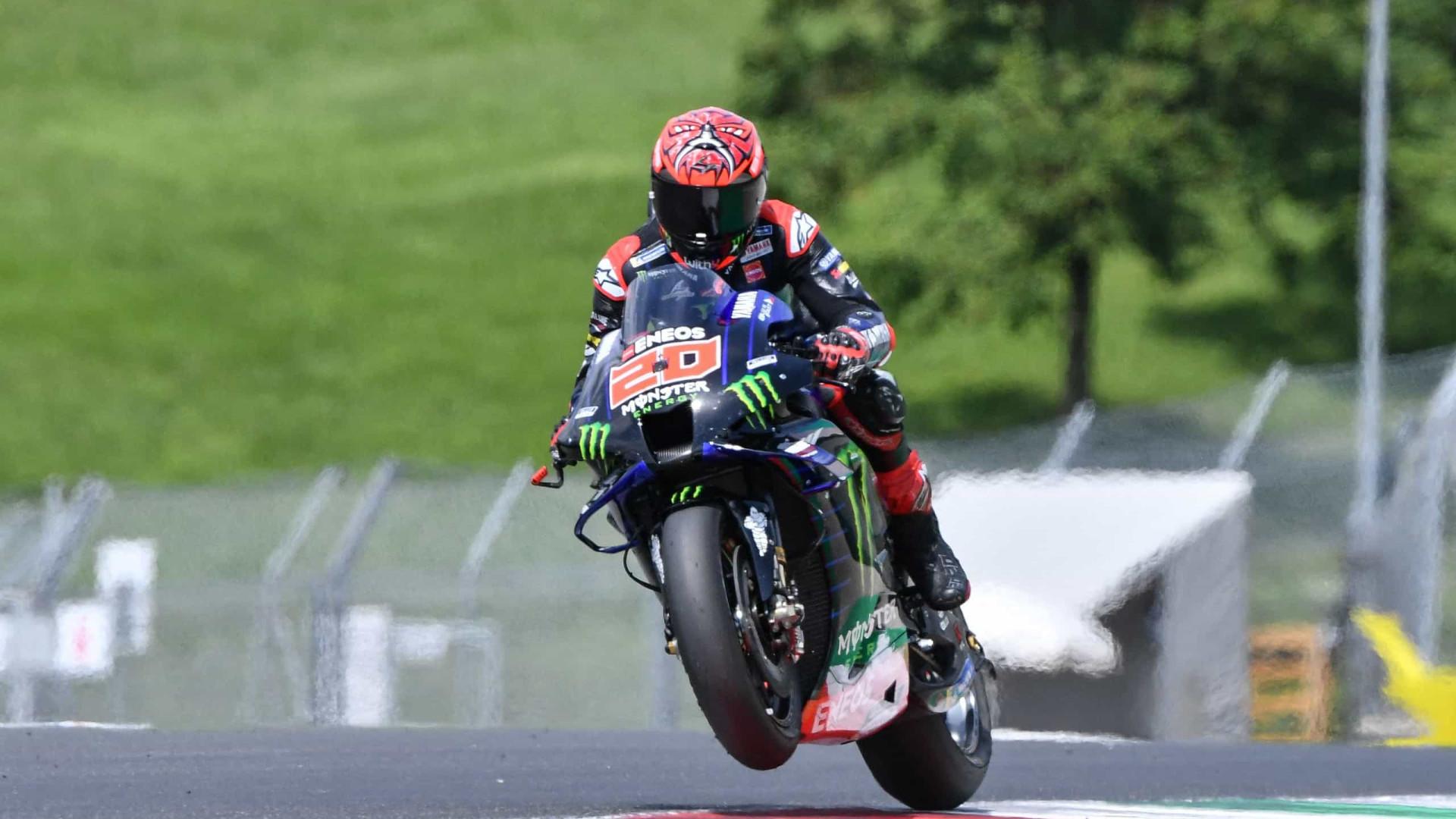 Quartararo ganha etapa da Holanda da MotoGP com dobradinha da Yamaha