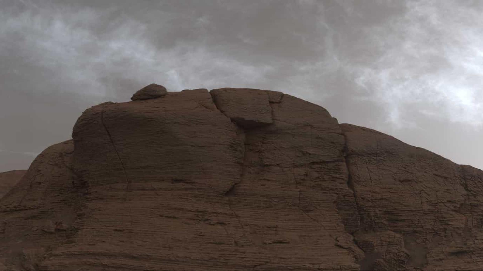 Rover capta fotografias de nuvens em Marte