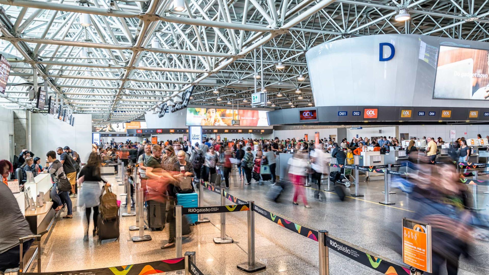 Covid-19: Rio começa a testar passageiros vindos da Índia