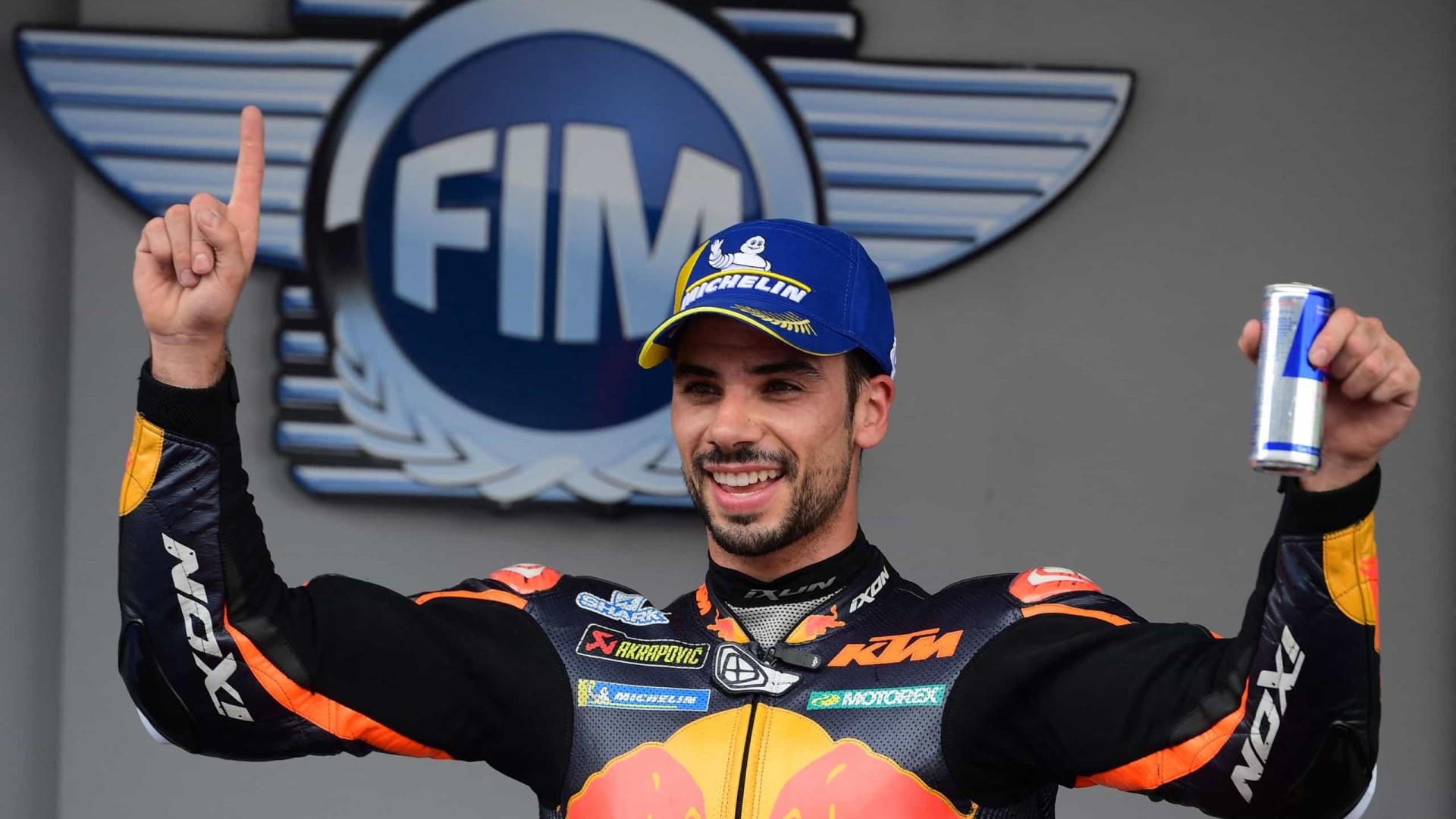 Português Miguel Oliveira vence pela primeira vez na temporada da MotoGP