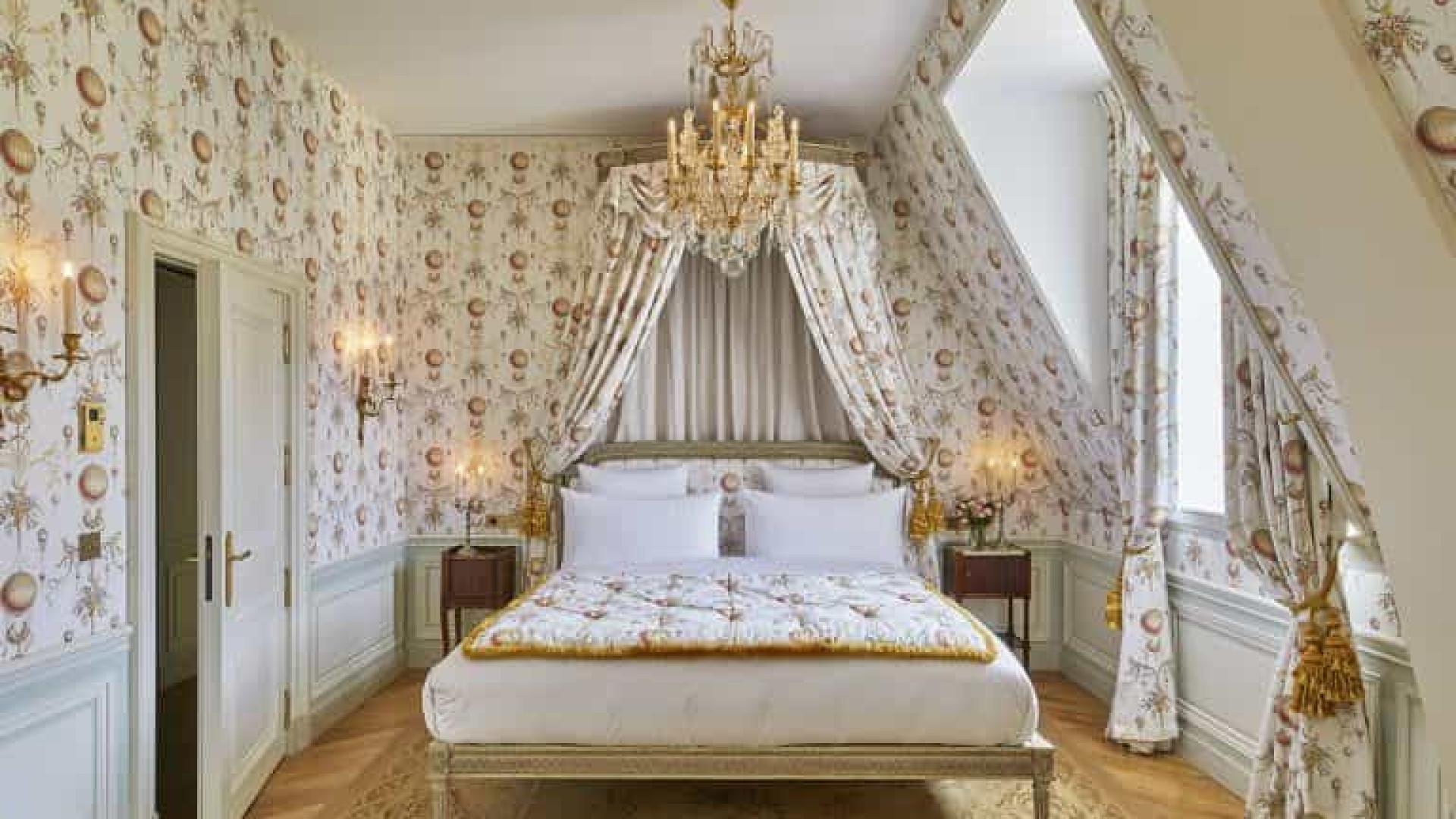 Hotel de luxo é inaugurado dentro do Palácio de Versalhes