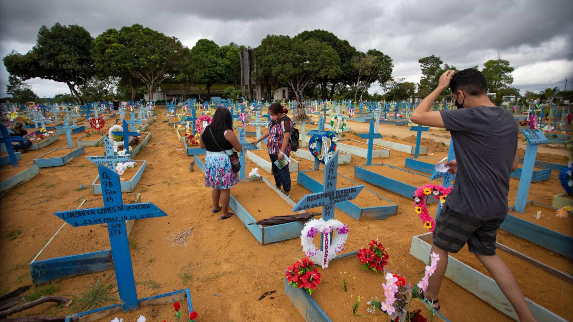 Brasil registra 1.119 mortes por Covid e 39.712 novos casos em 24 h