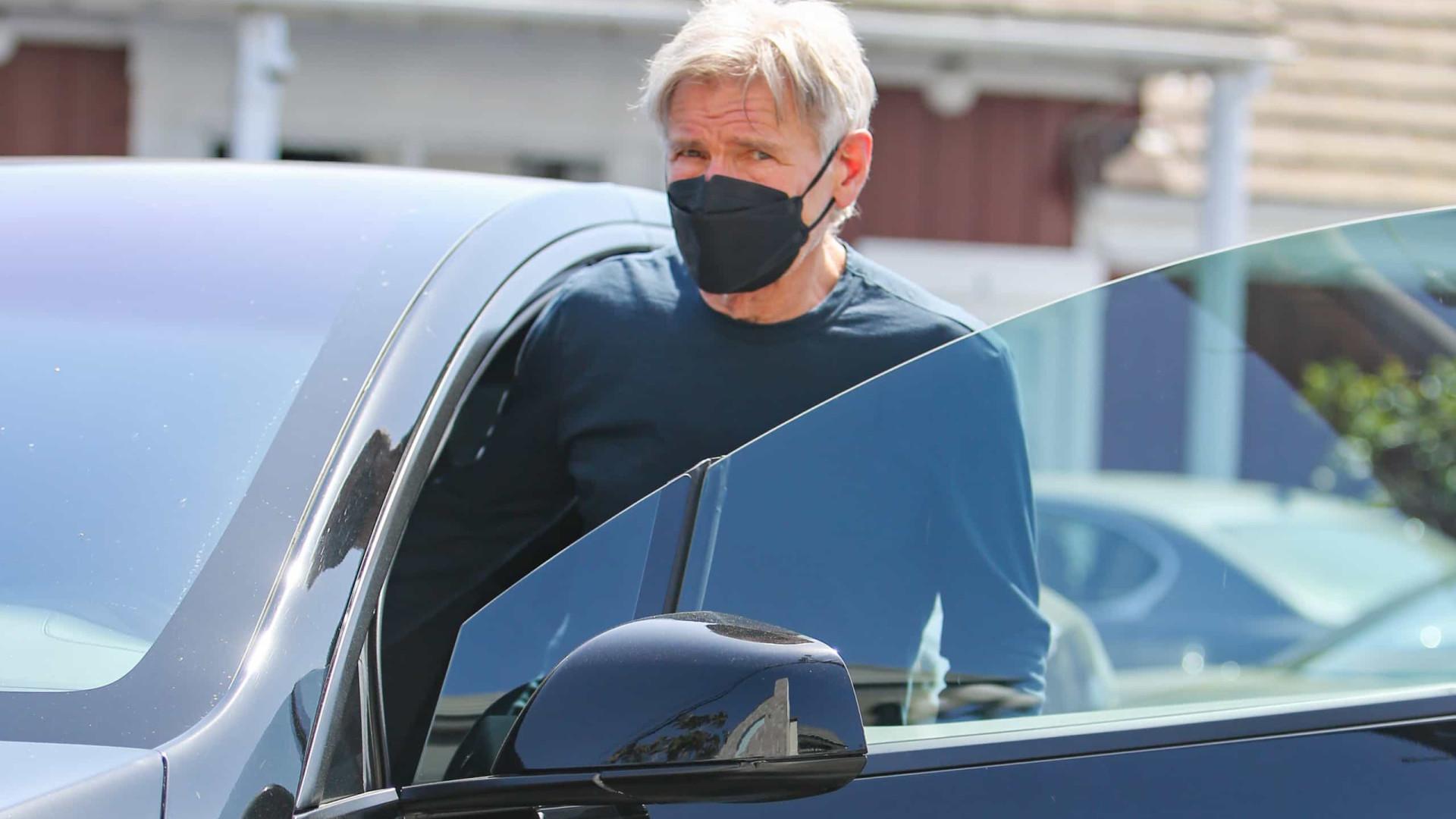 Harrison Ford aparece nas primeiras fotos de filmagem de 'Indiana Jones 5'