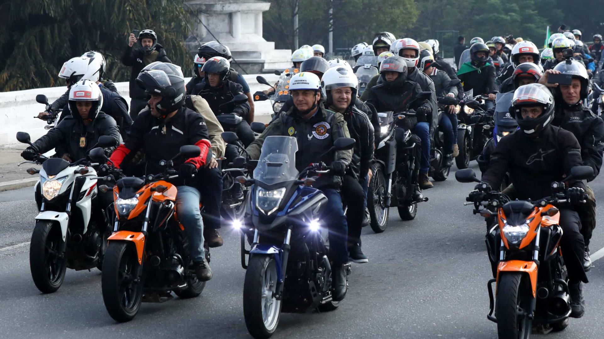 CPI pede para TCU realizar auditoria sobre 'motociatas' de Bolsonaro