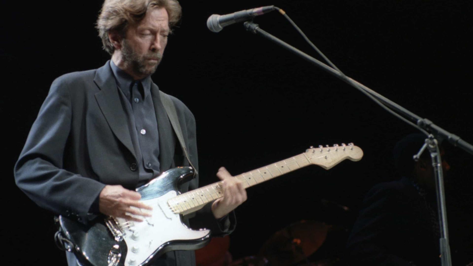 Eric Clapton se reconcilia com a filha após seis anos afastados