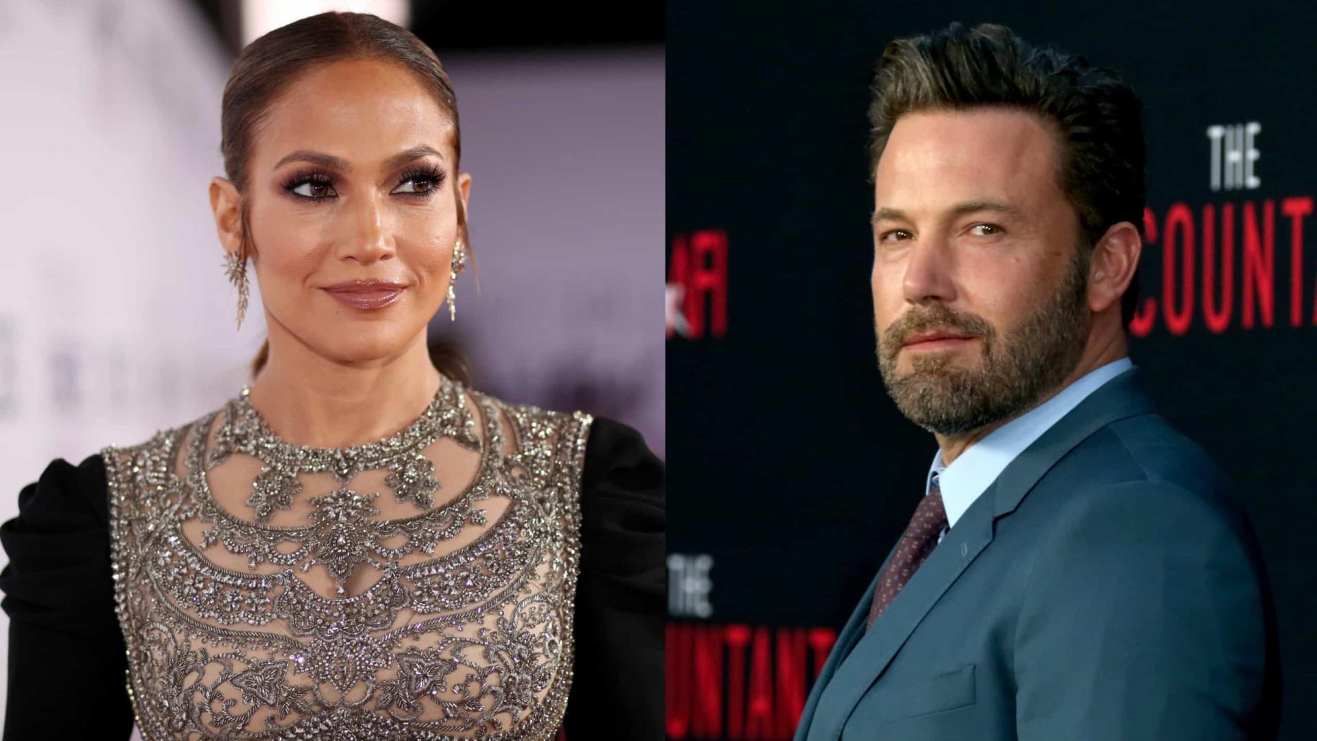 Jennifer Lopez e Ben Affleck assumem relação no aniversário da atriz