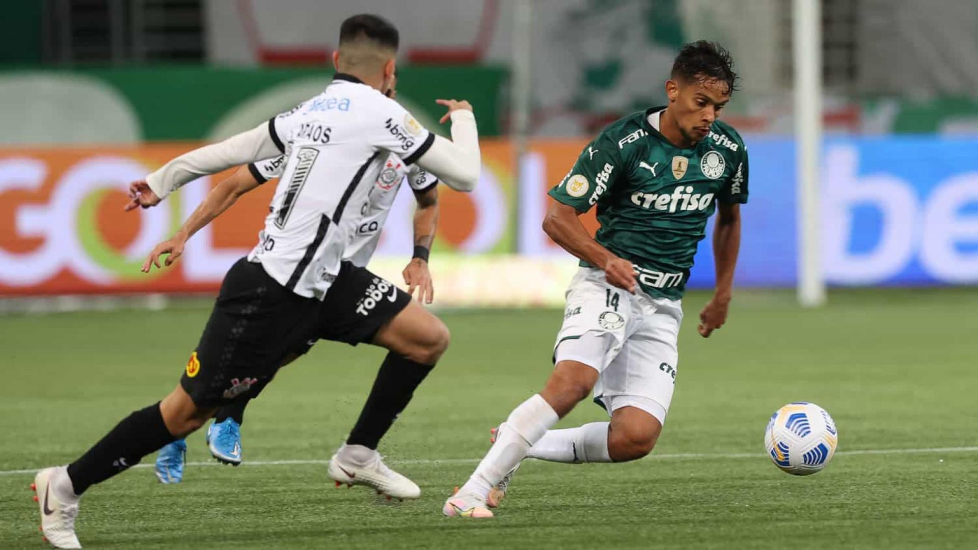Palmeiras e Corinthians ficam no empate pelo Brasileirão